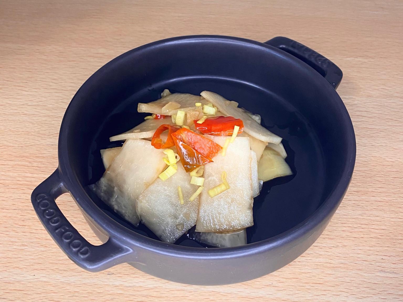 《料理簡單做》涼拌大頭菜