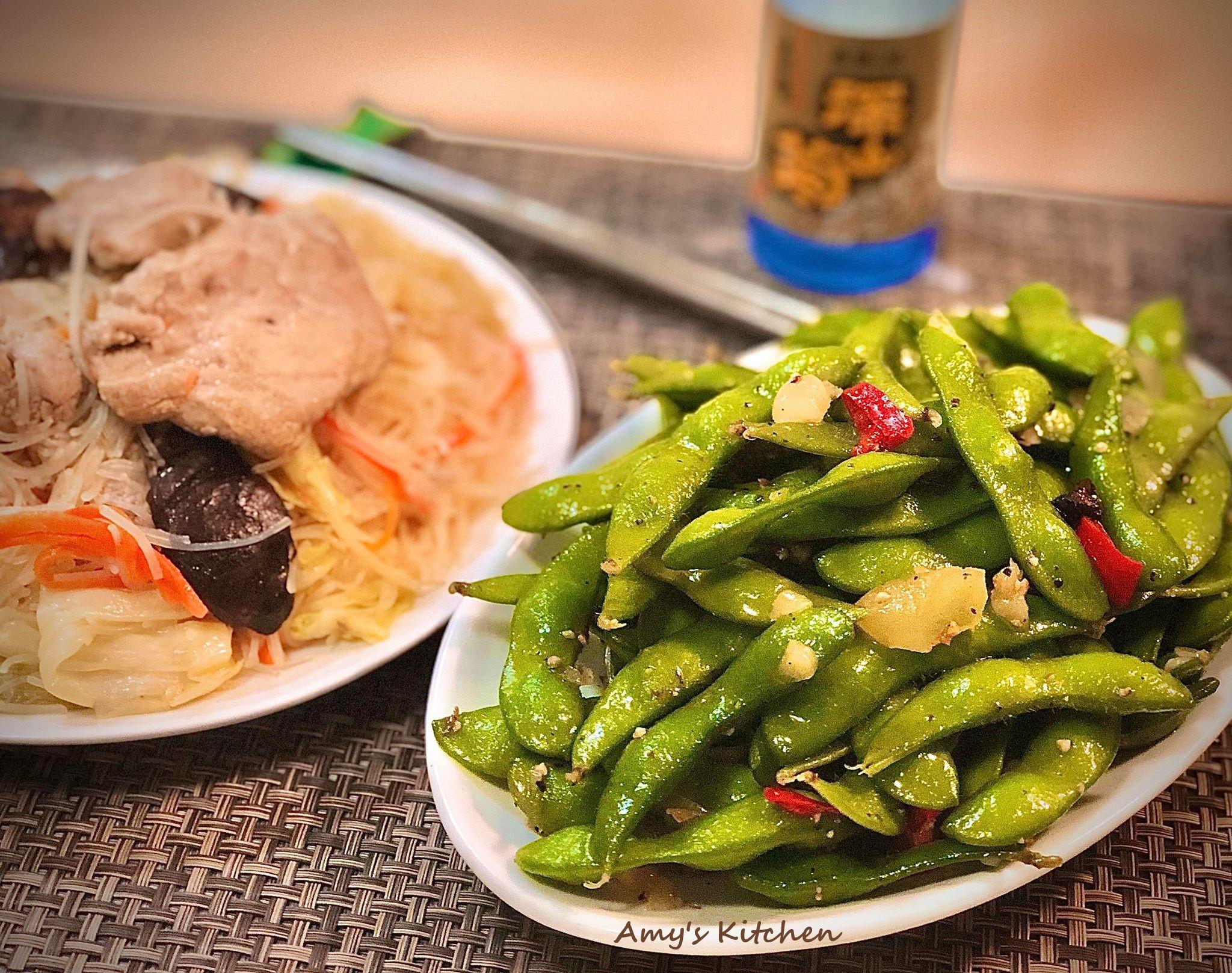 百元家常菜-涼拌毛豆