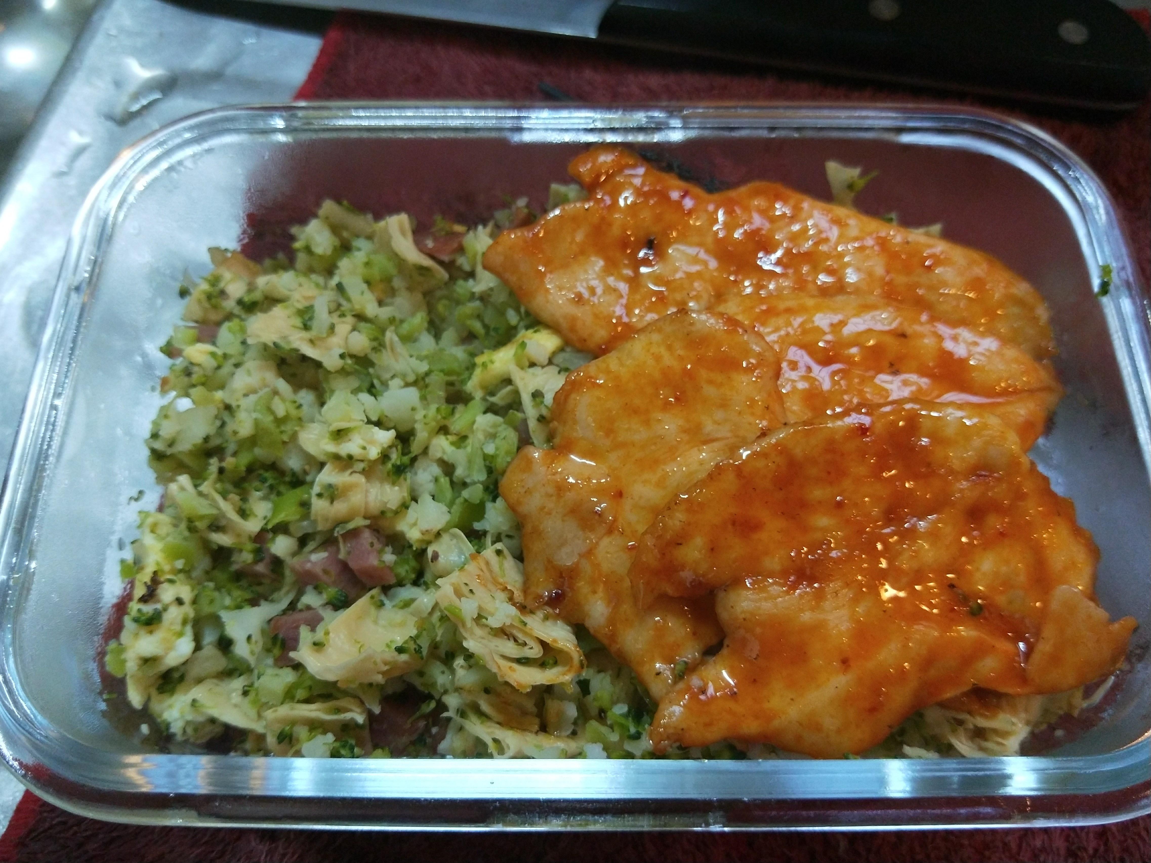 花椰菜米炒飯