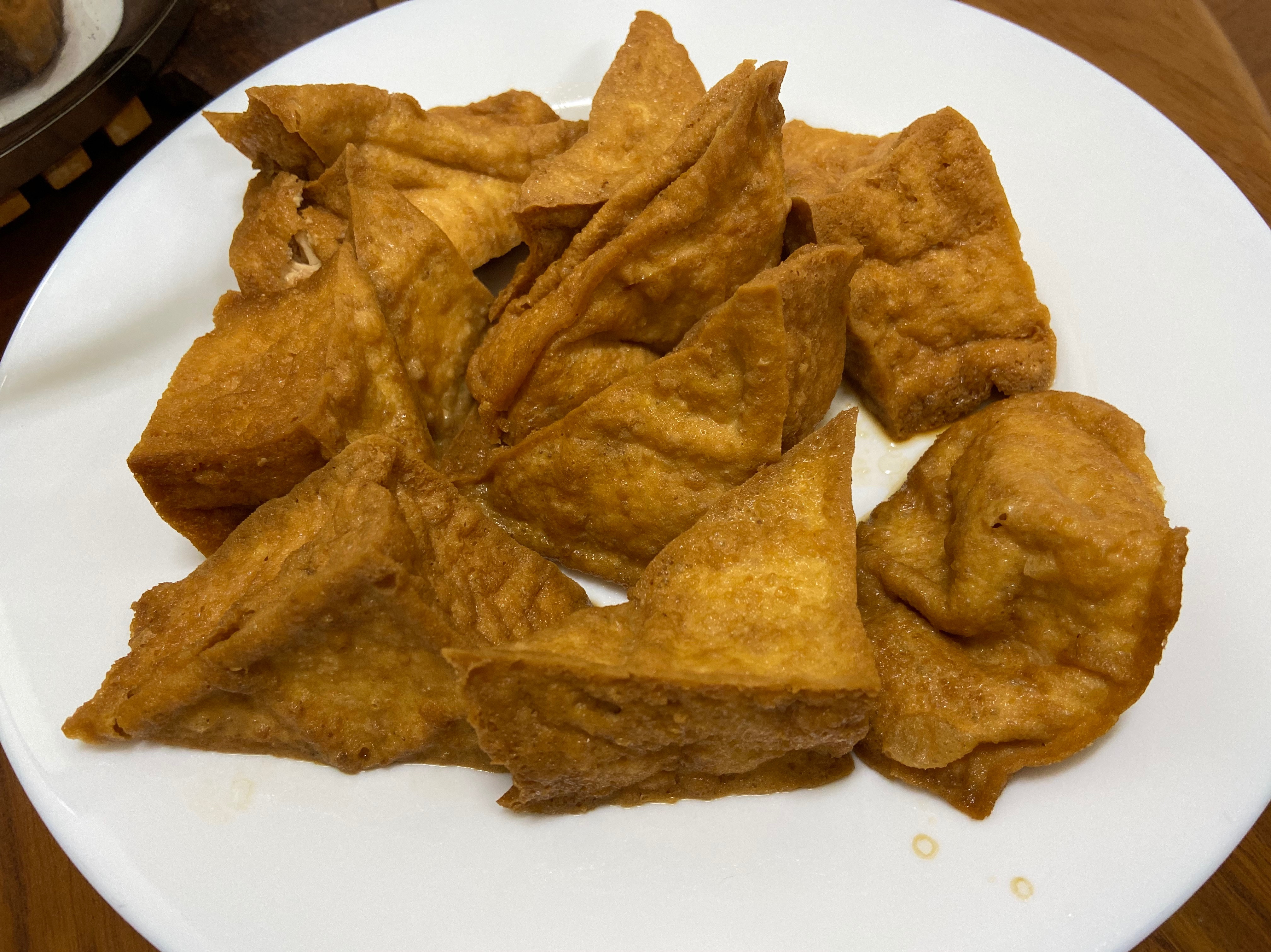 醬炒油豆腐