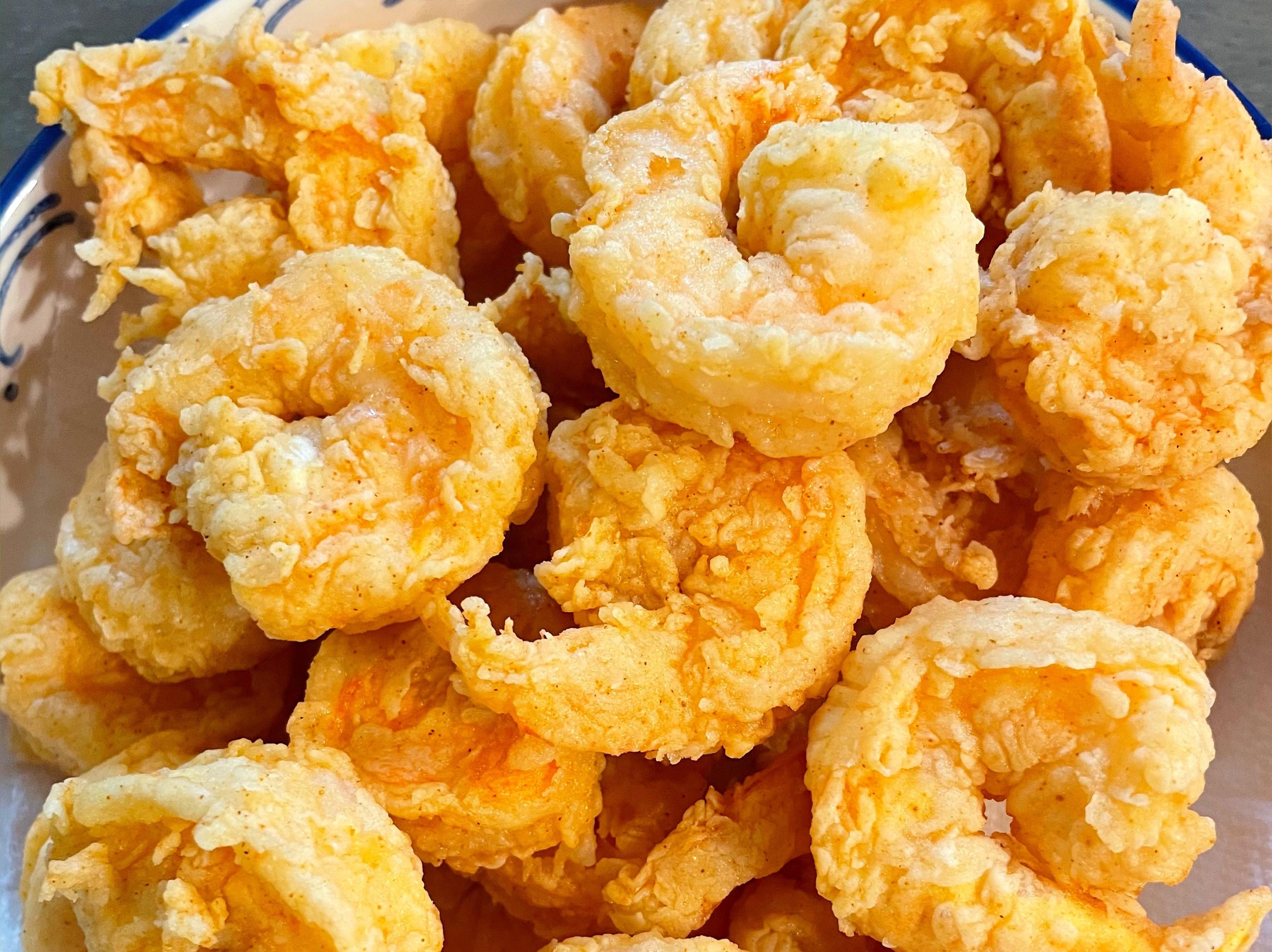 香酥炸蝦球~爆米花蝦 超級下酒菜
