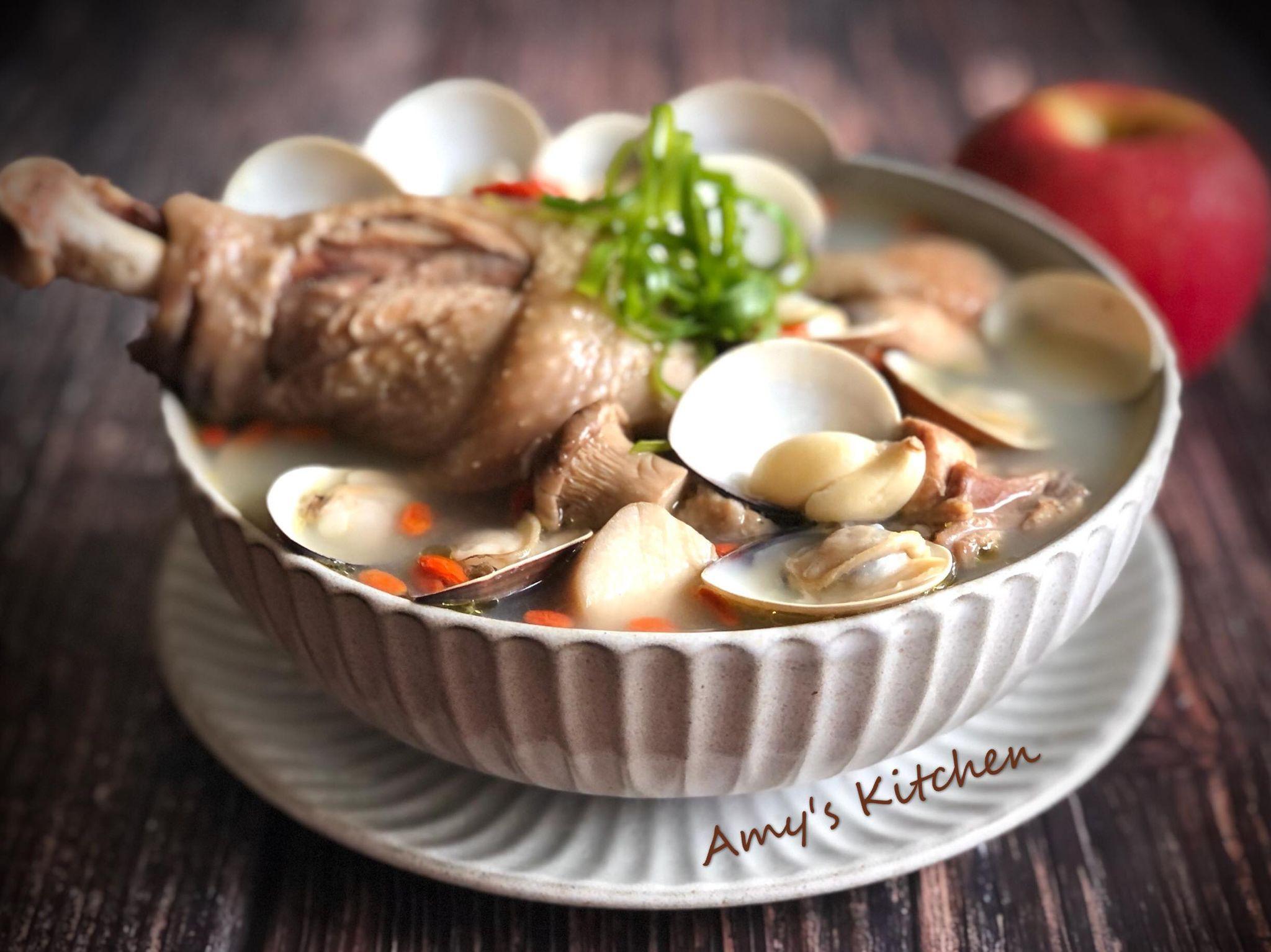蒜頭蛤蜊雞湯[年菜]