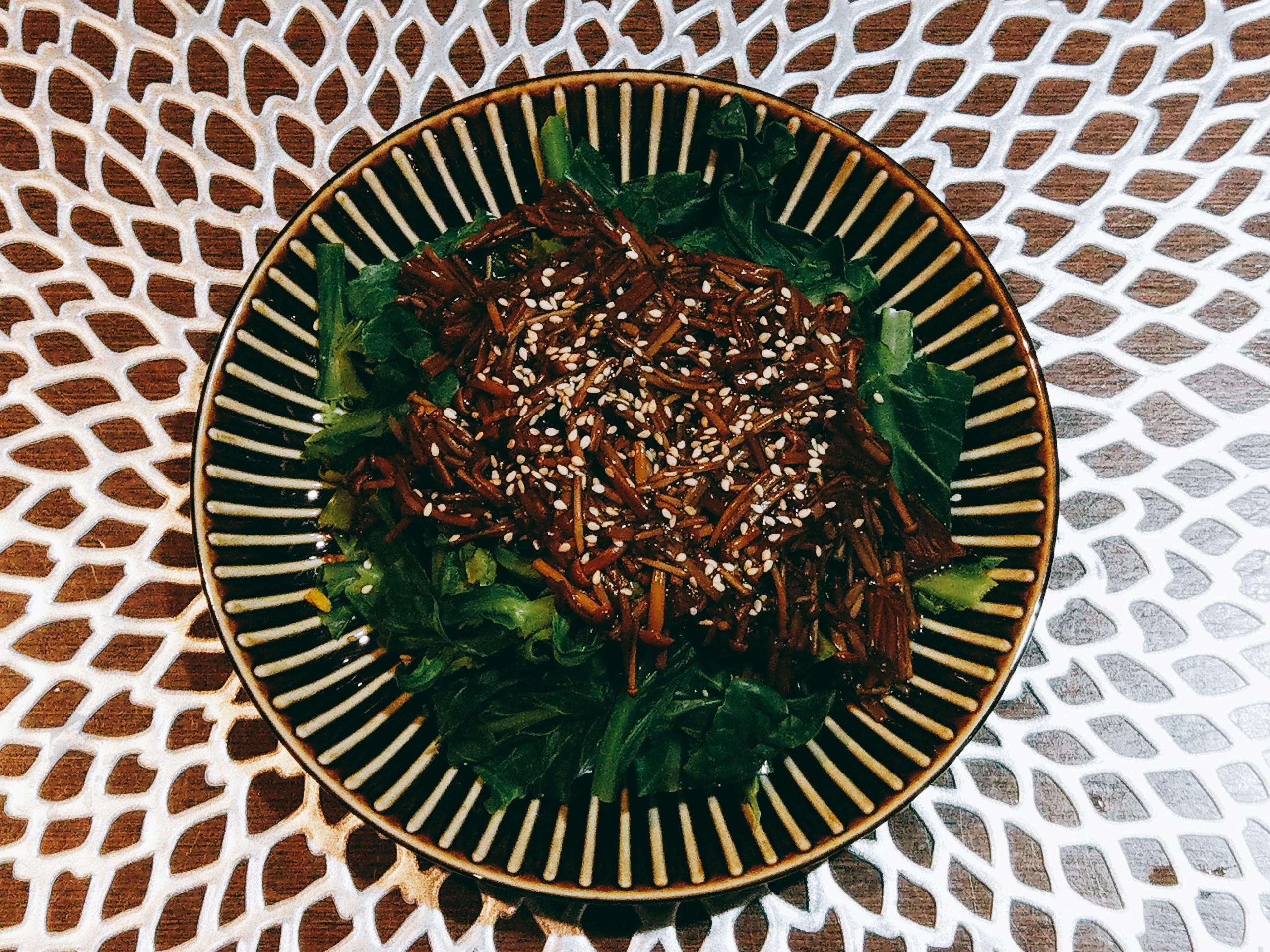 蠔油黃金菇油菜