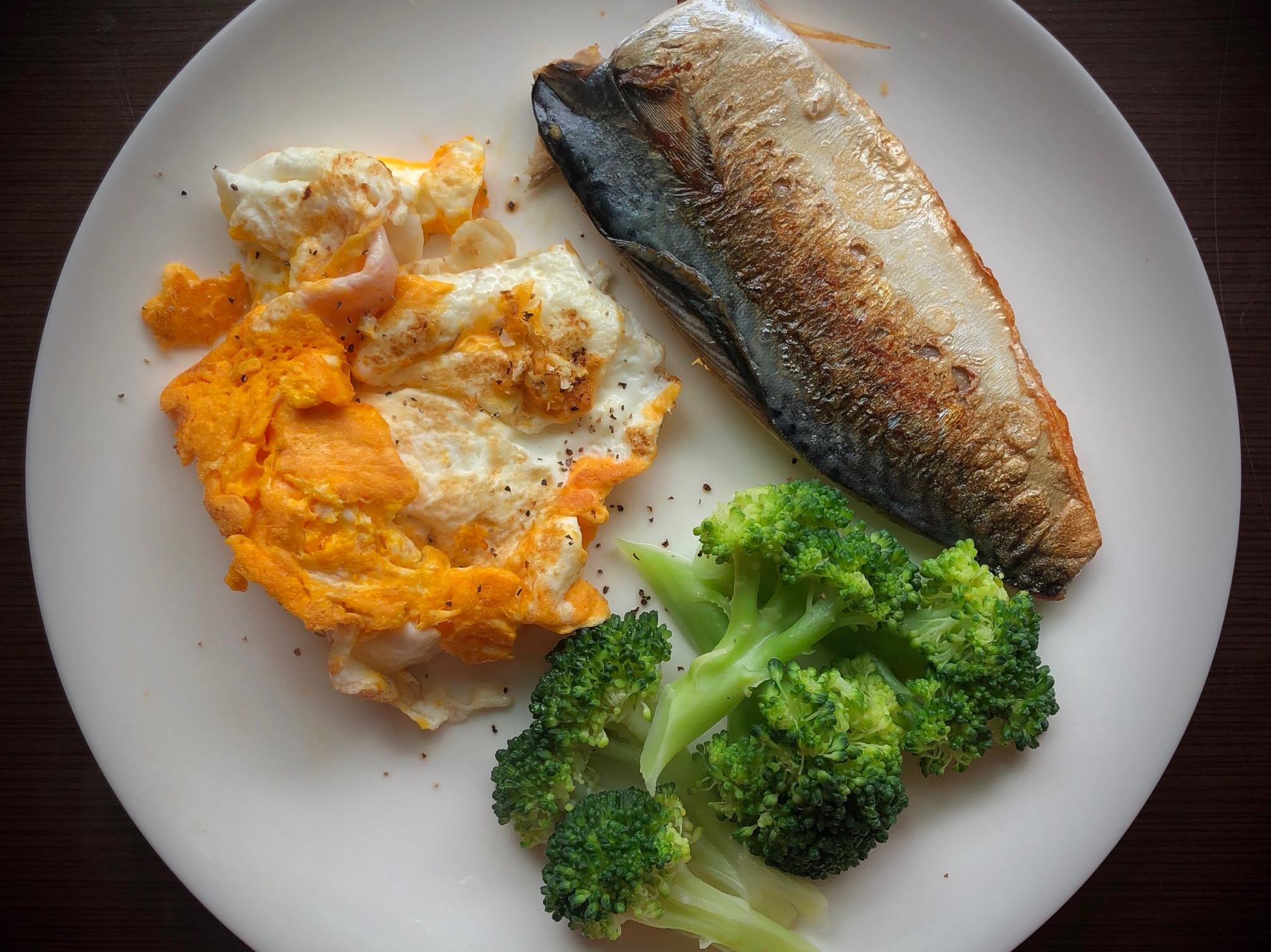 [減脂餐]鯖魚/雞蛋/青花菜