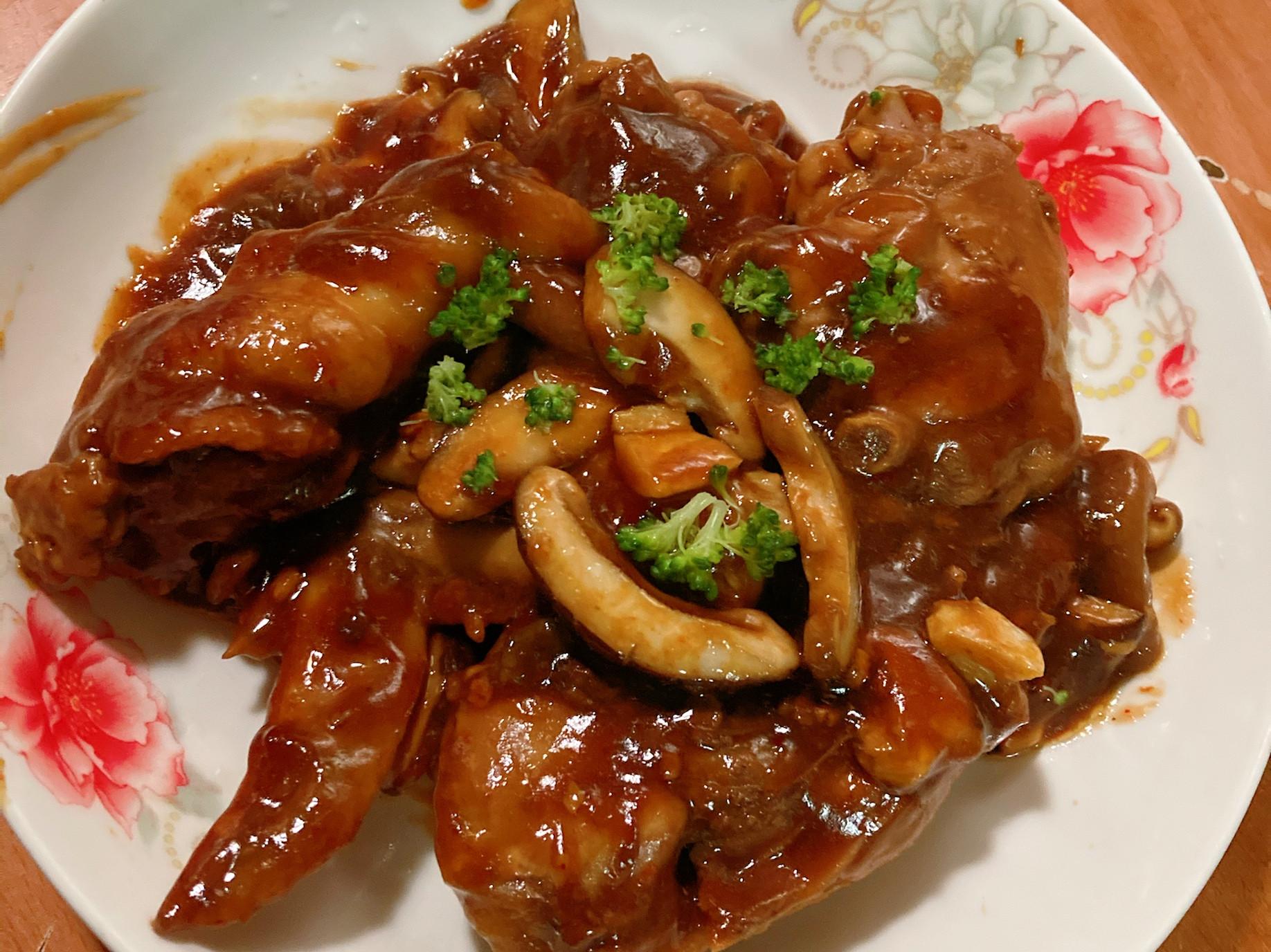 超下飯簡單版香菇雞肉