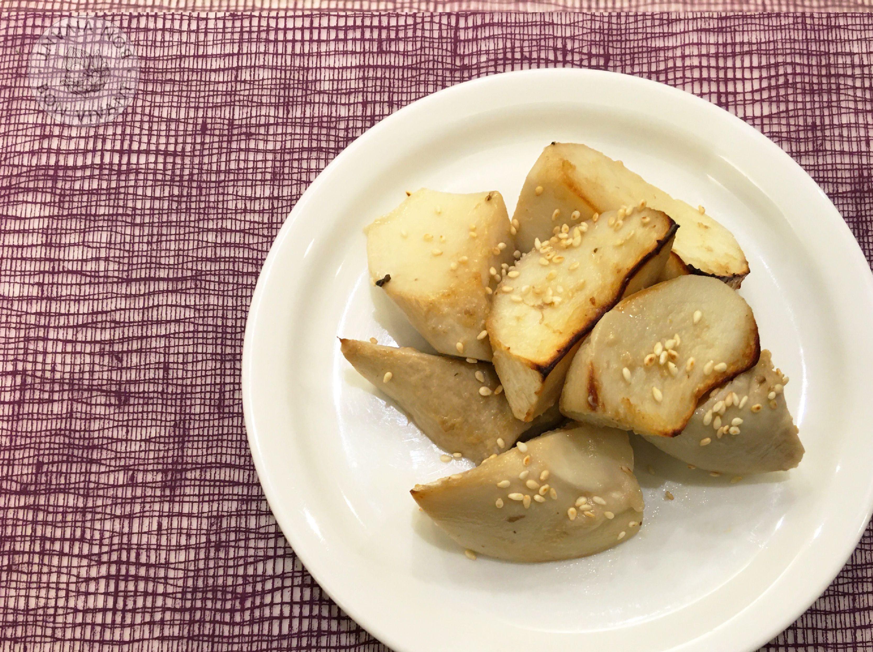 芝麻味噌烤杏鮑菇