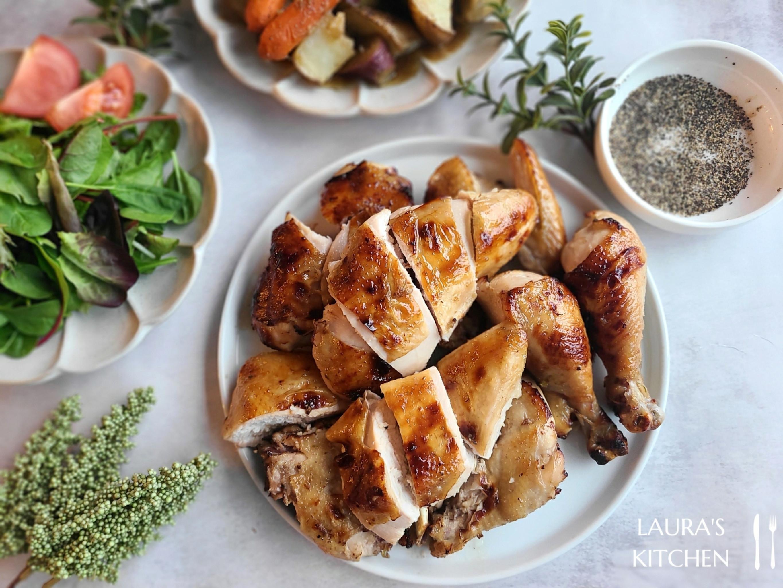 台式手扒雞 (低油版烤雞)