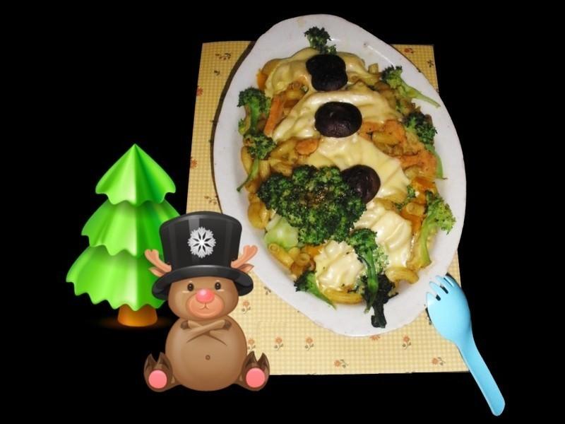 芝司樂 Merry Christmas 南瓜咖哩焗通心粉