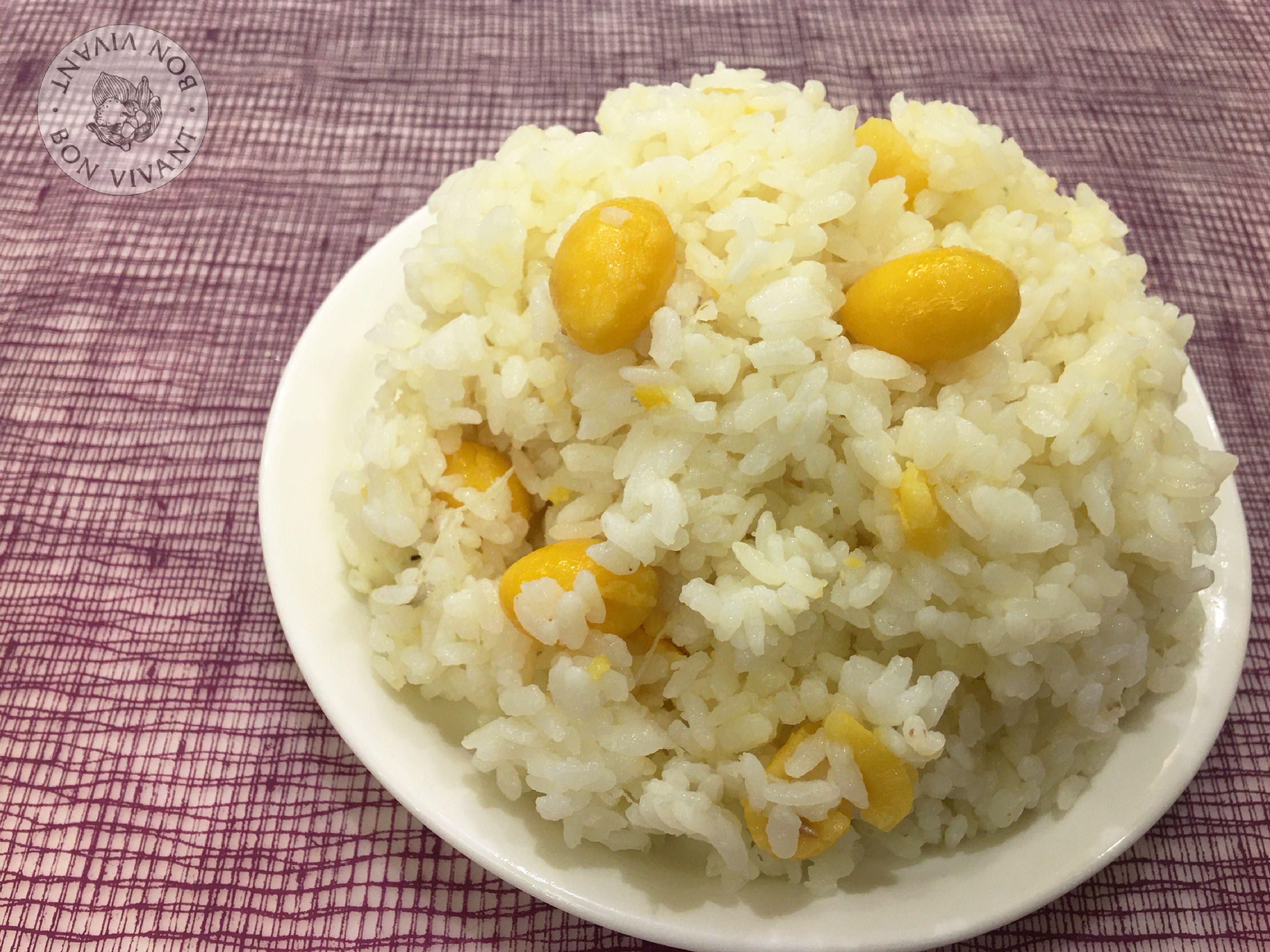 山藥銀杏飯