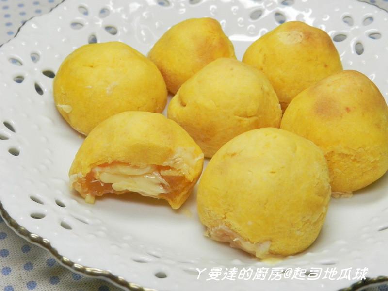 ㄚ曼達的廚房~芝司樂起司地瓜球