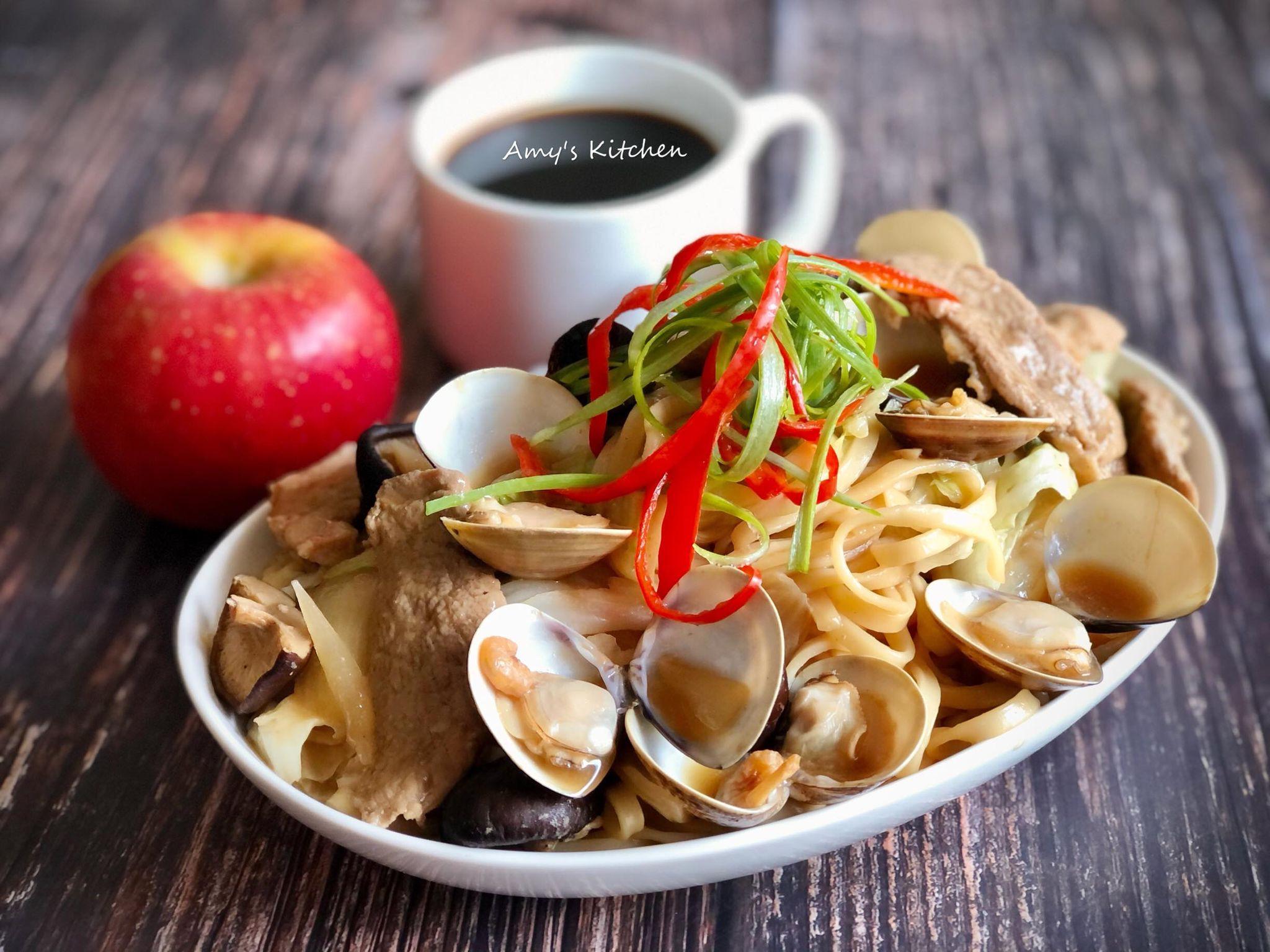 家常菜-什錦炒麵 (清冰箱)