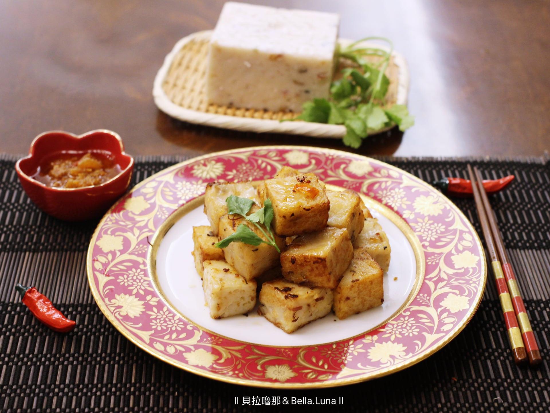 XO醬炒手工蘿蔔糕