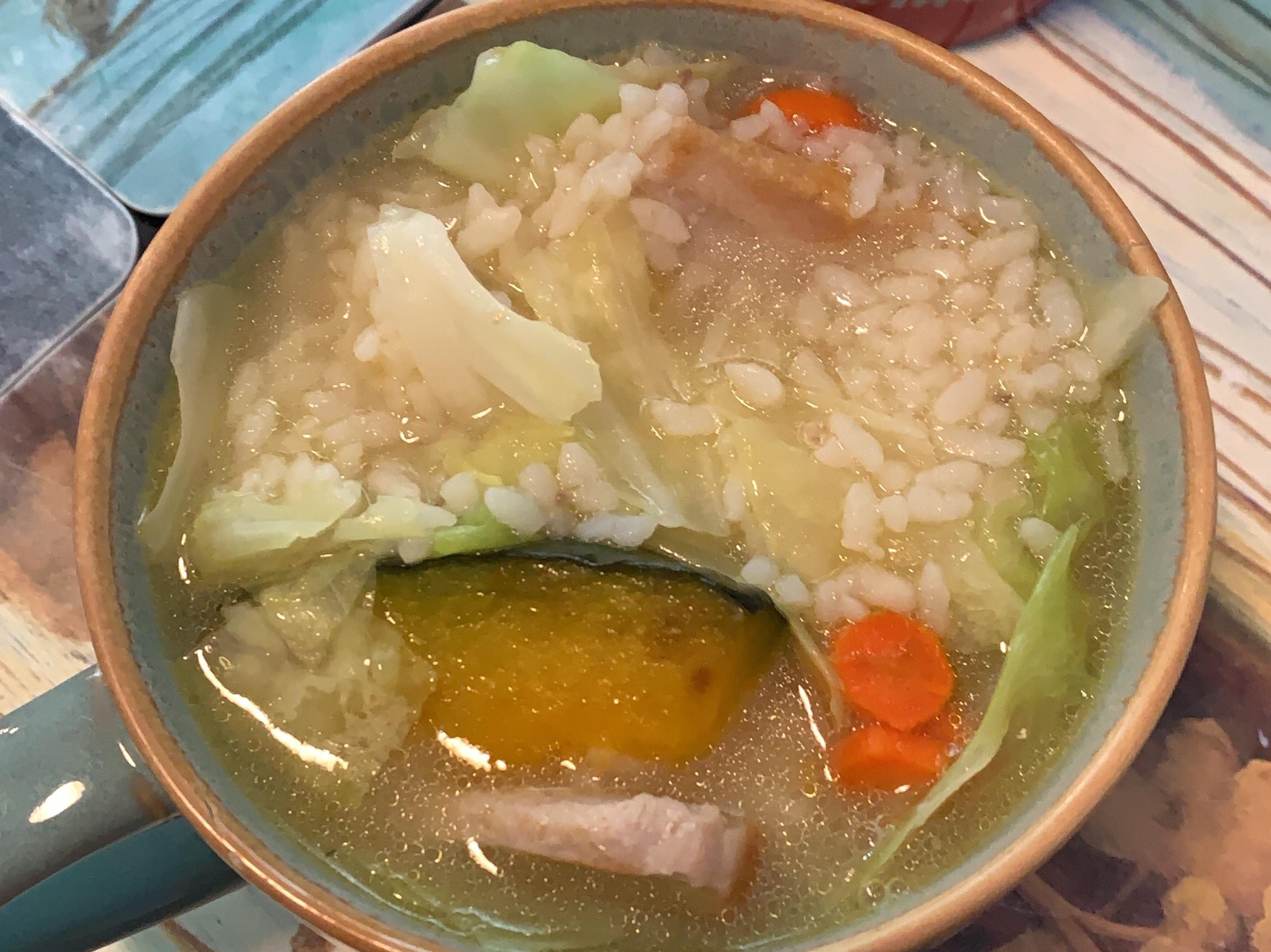 芋頭南瓜豬頸肉鹹粥
