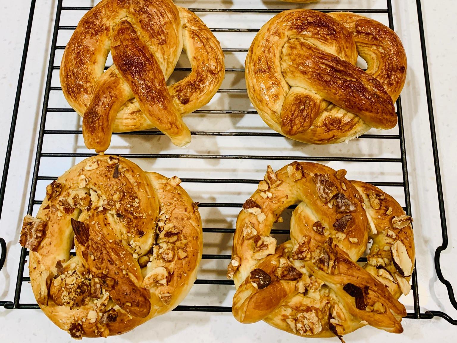 美式蝴蝶餅麵包,第一次就上手