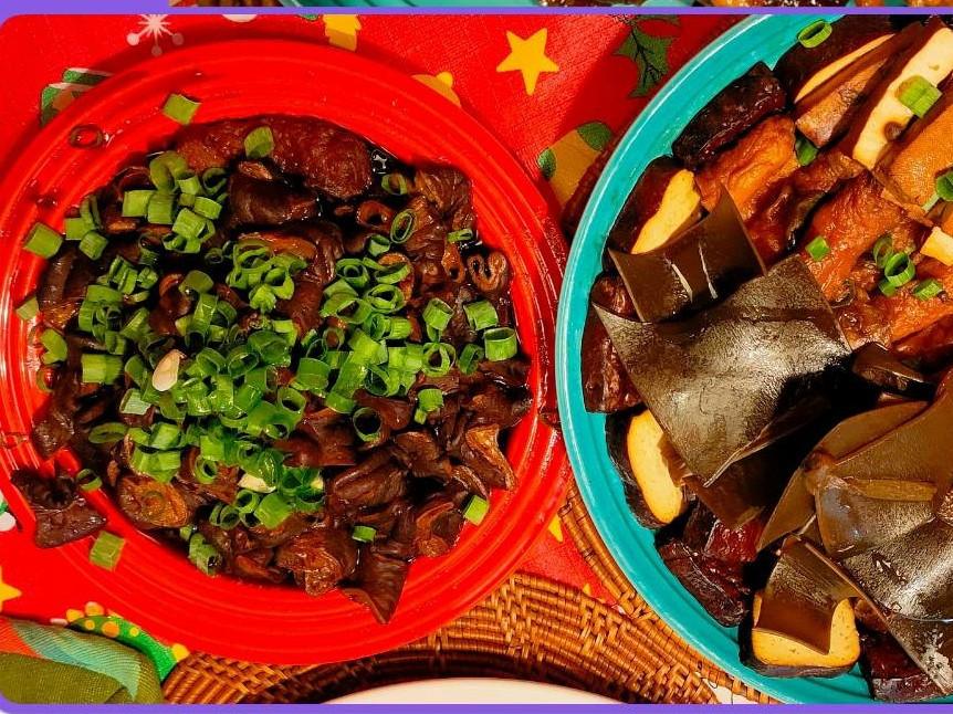 美味滷大腸(老滷汁烤箱做法)