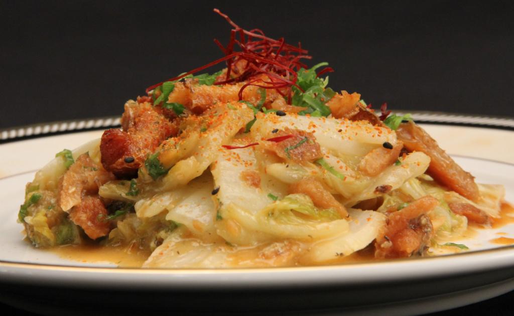 【快樂EVERYDAY】紅燒鰻味噌白菜