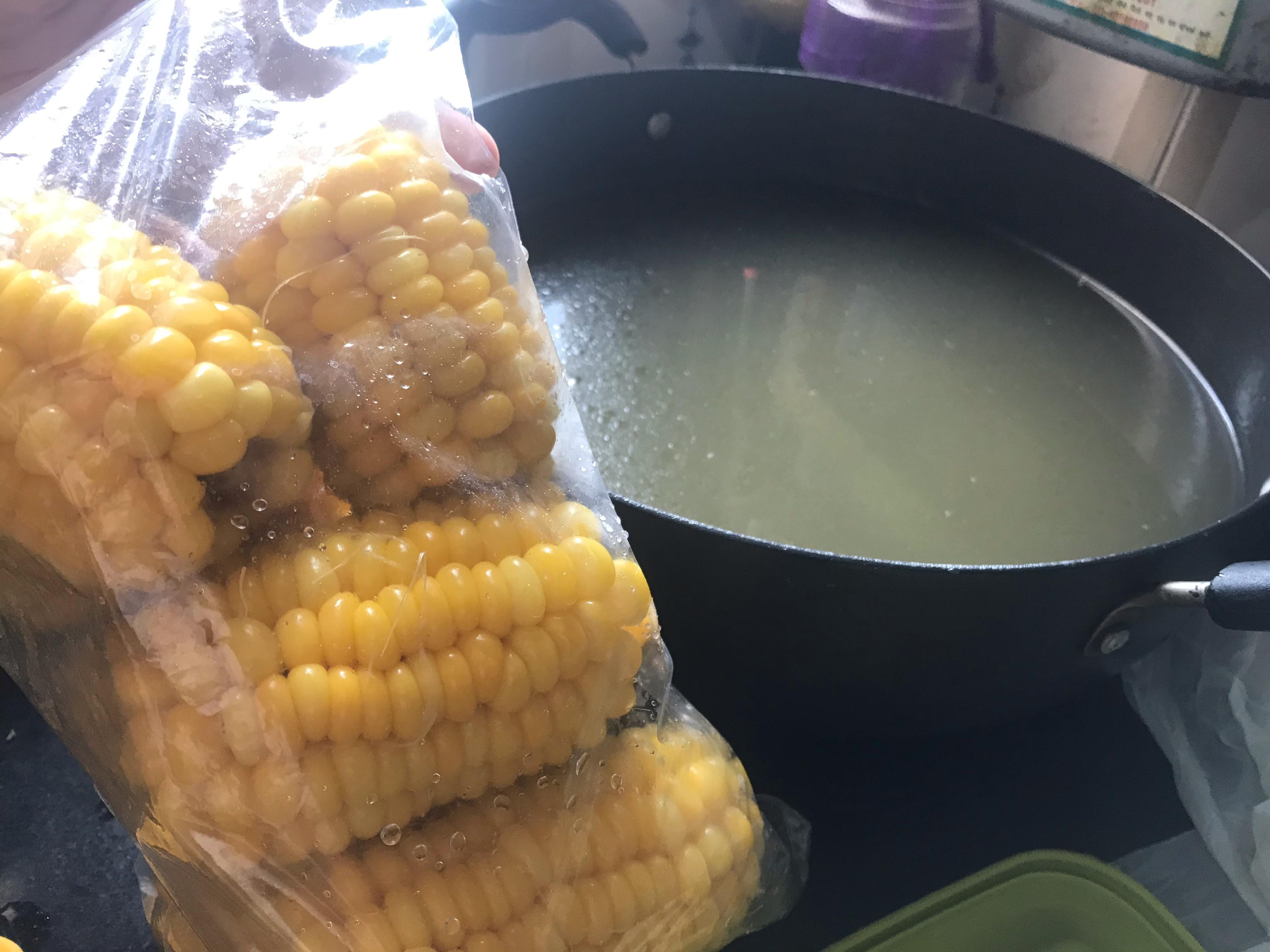 🌽 玉米湯底 玉米粒