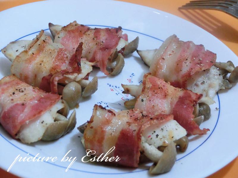 【博客】培根鯛魚一口燒