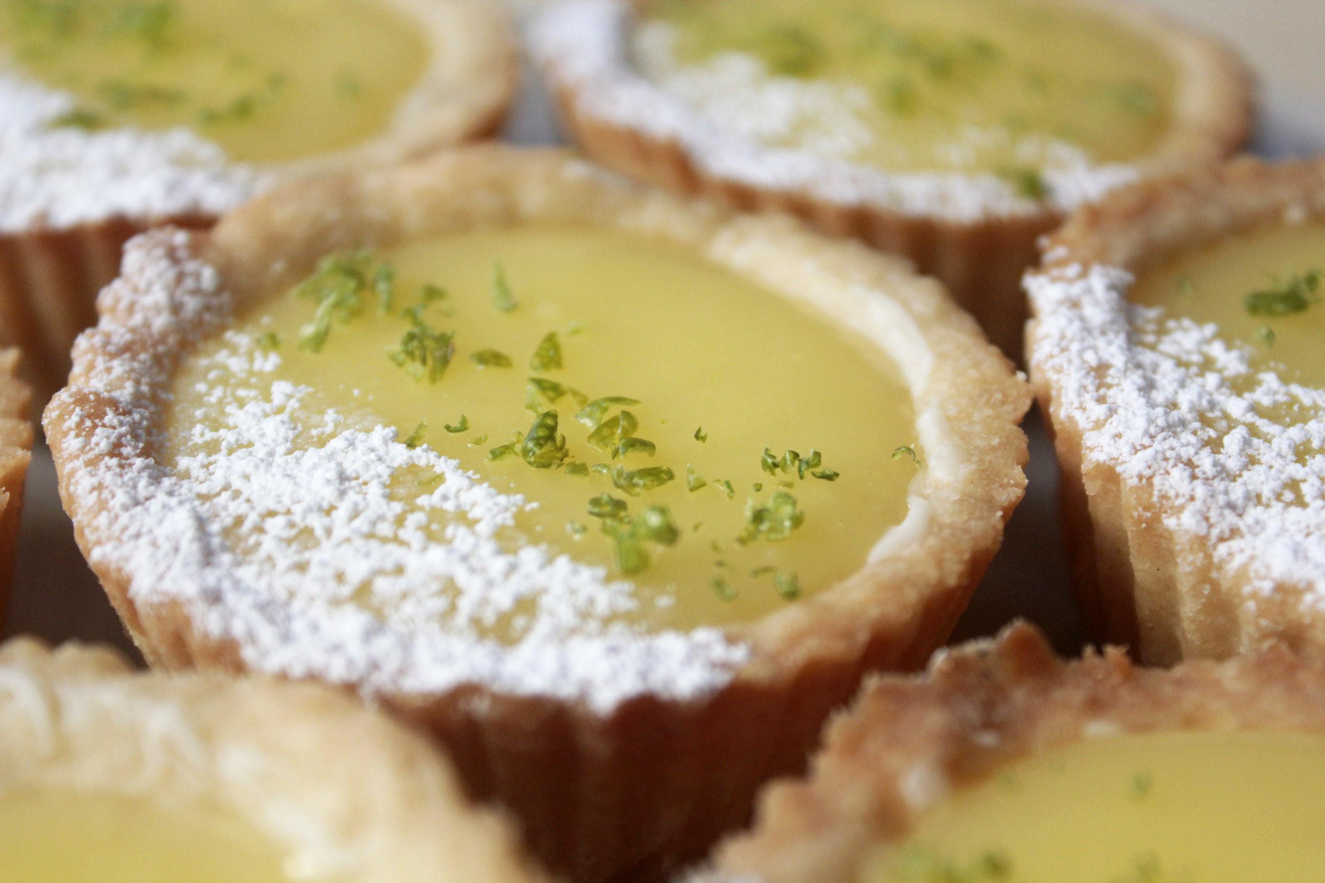 影片◆迷你法式檸檬塔 餅乾塔皮、馬芬烤模
