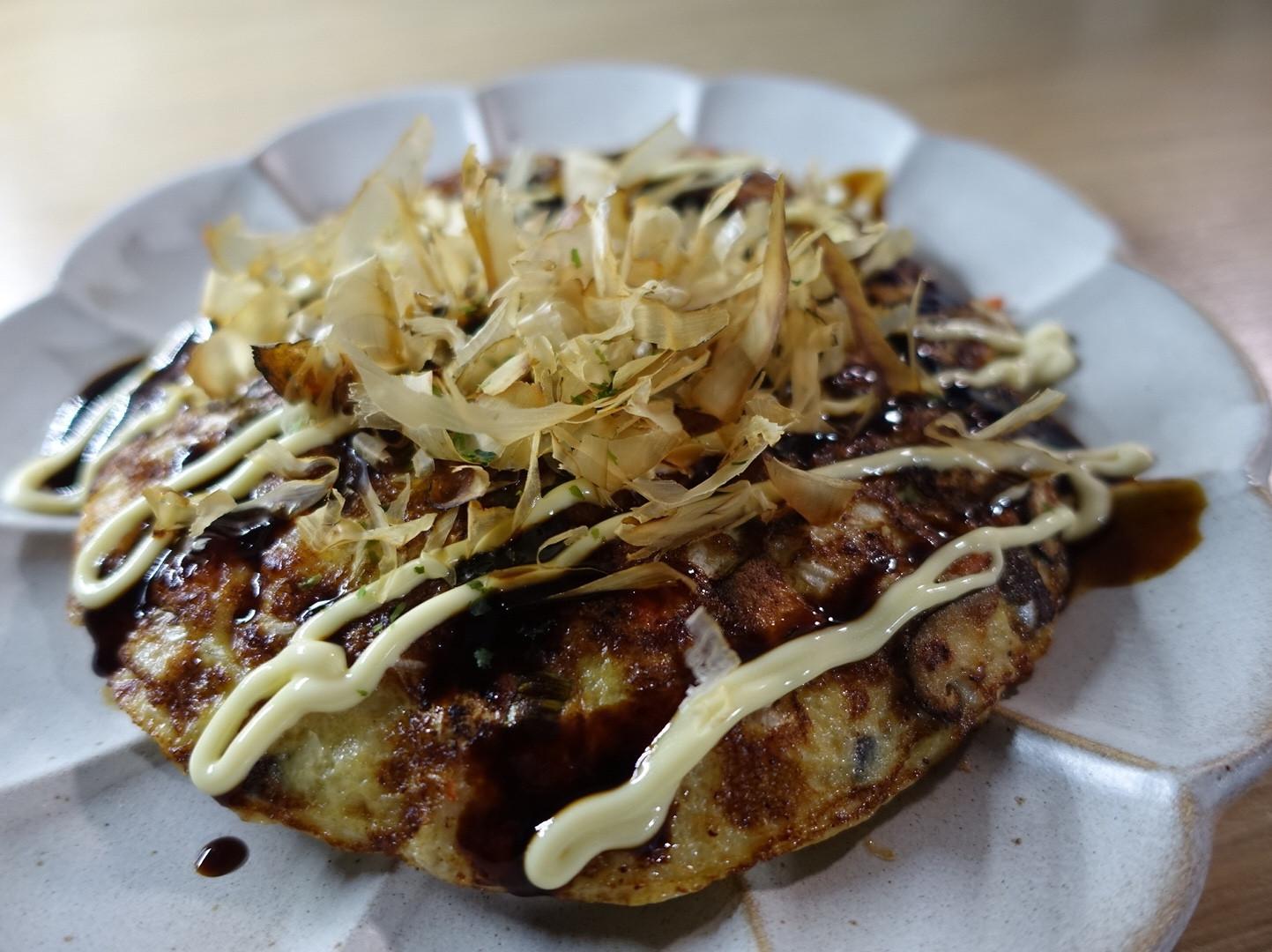 低醣山葵高麗菜煎餅-無麵粉