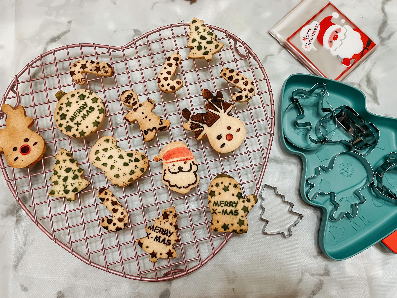 聖誕節印花造型餅乾
