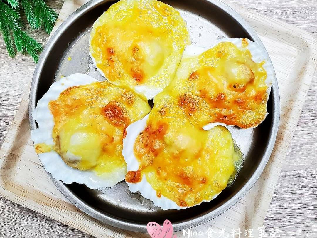 氣炸鍋-焗烤扇貝龍蝦沙拉