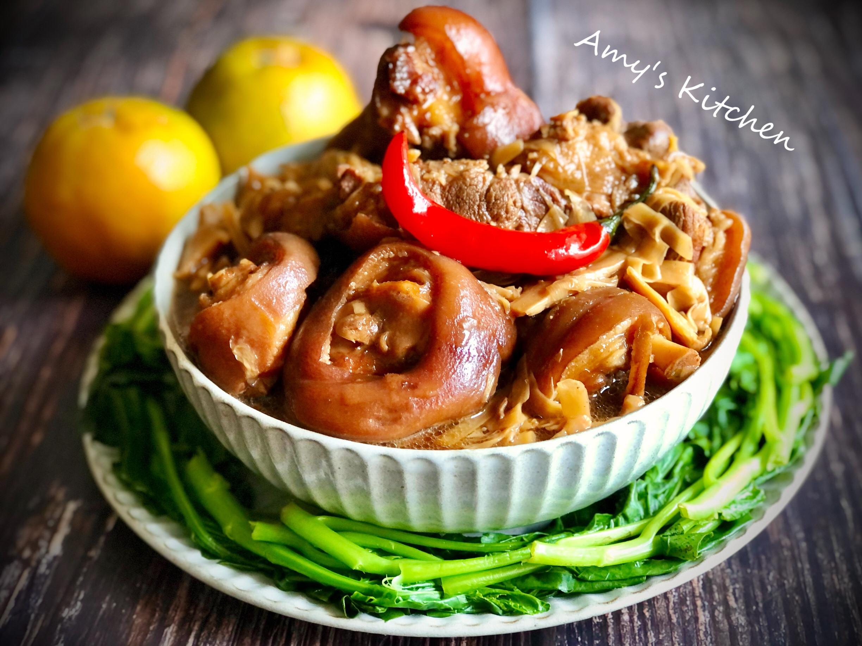筍絲滷豬腳 [年菜]