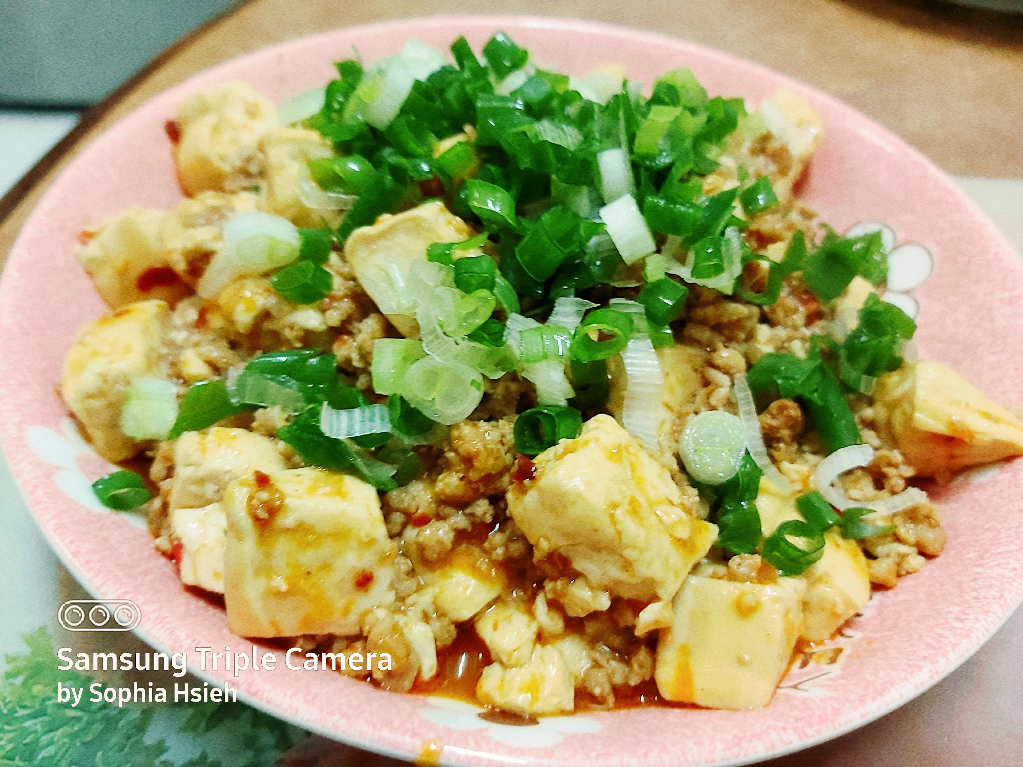 麻婆豆腐(S&B生蒜泥醬)