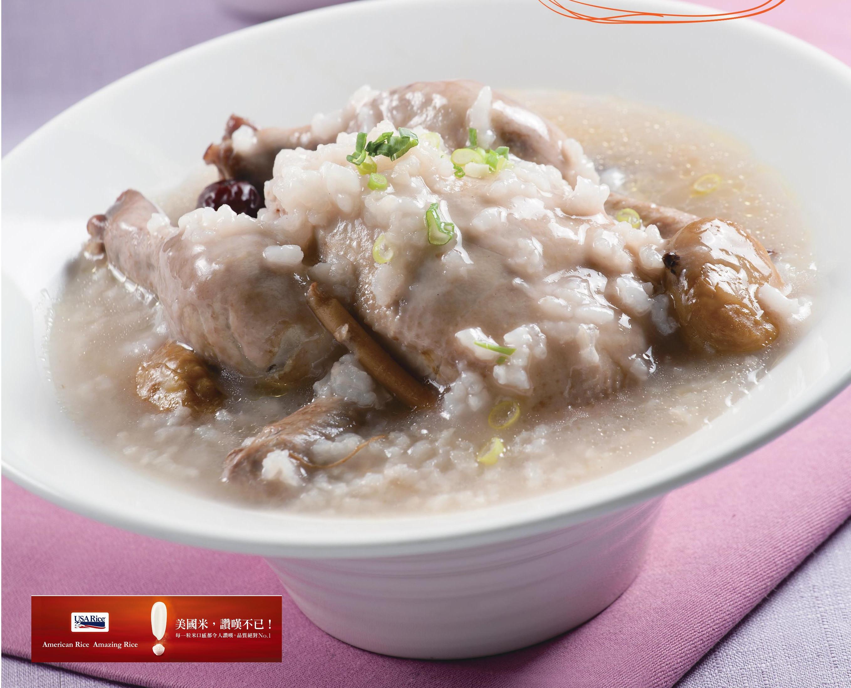 韓式人參雞粥