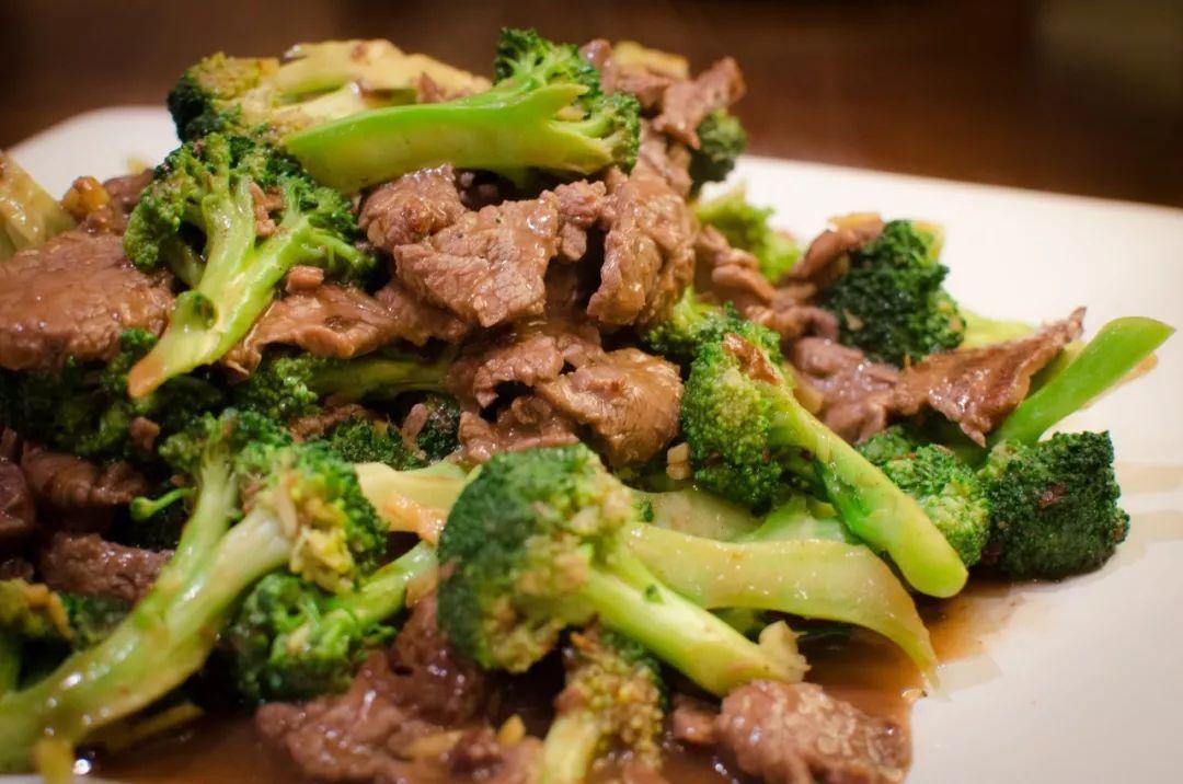 西蘭花炒牛肉