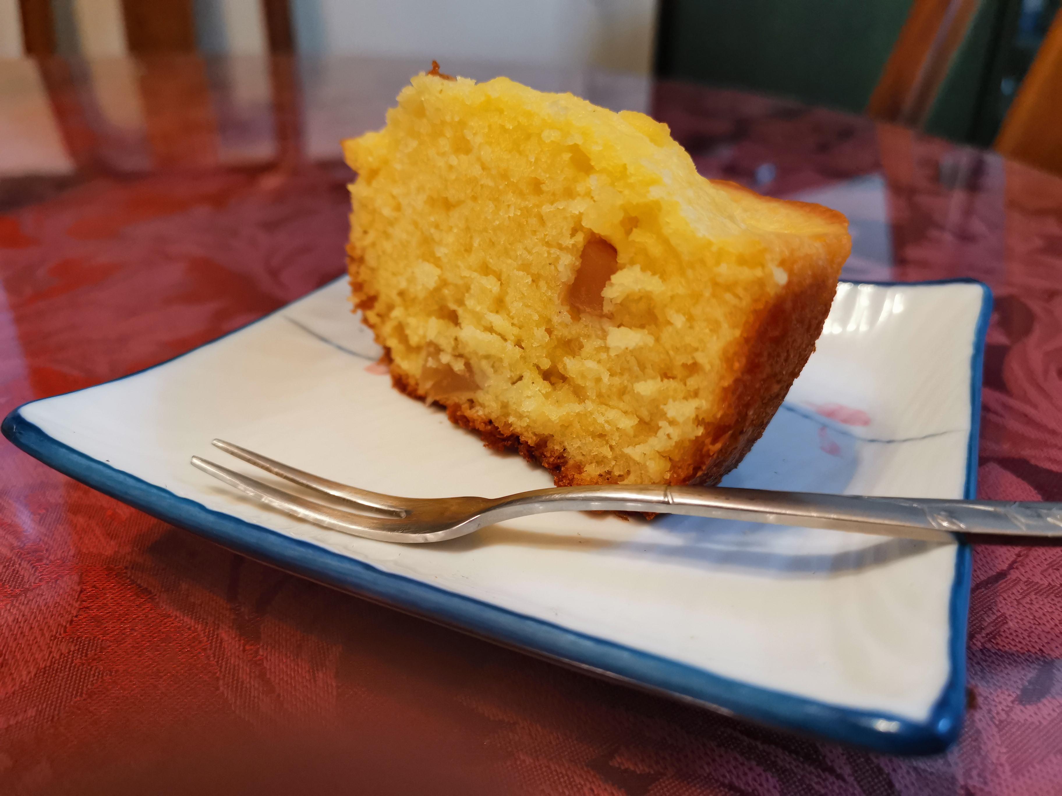 平底鍋做「肉桂蘋果蛋糕」