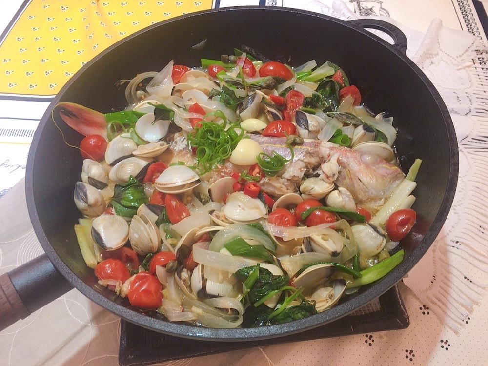 義式水煮魚(30cm樂炒鍋)