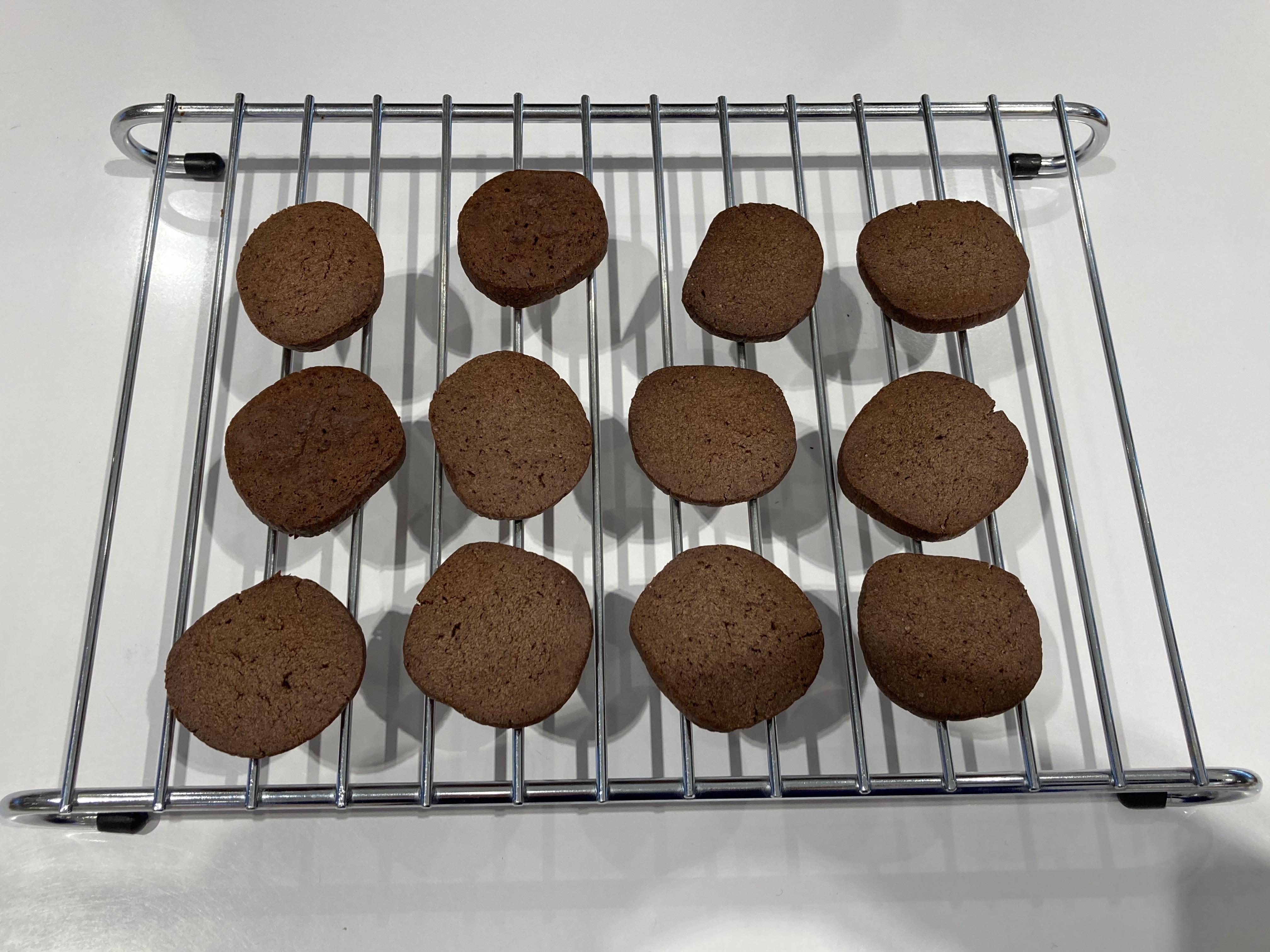 巧克力餅乾(飛利浦氣炸鍋)