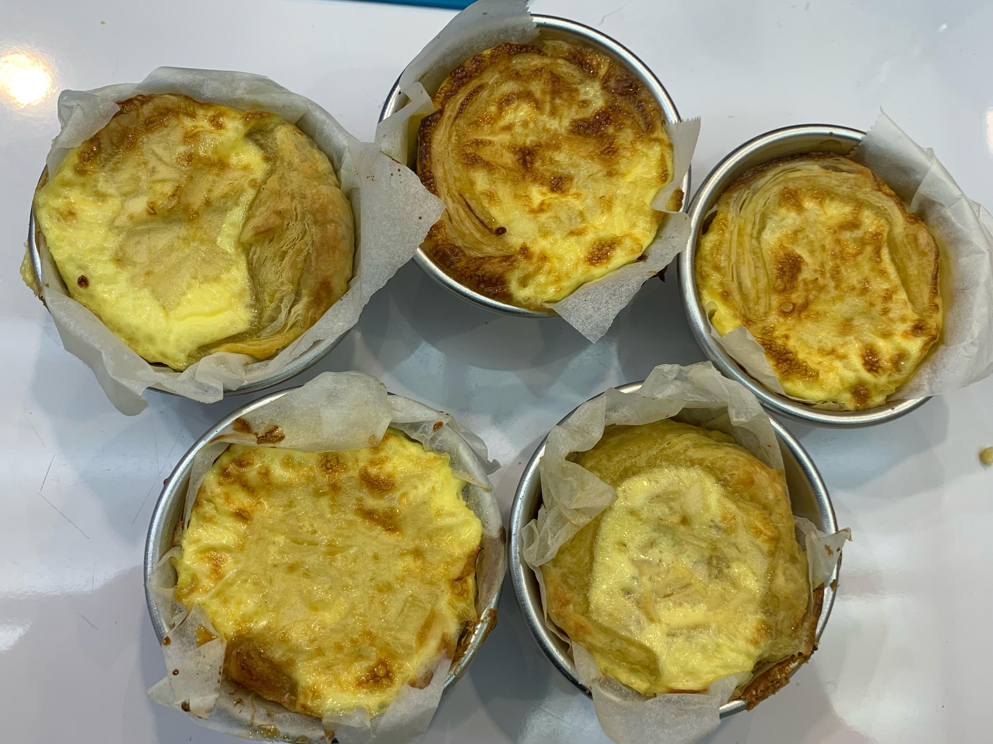 葡式蛋撻(飛利浦氣炸鍋)