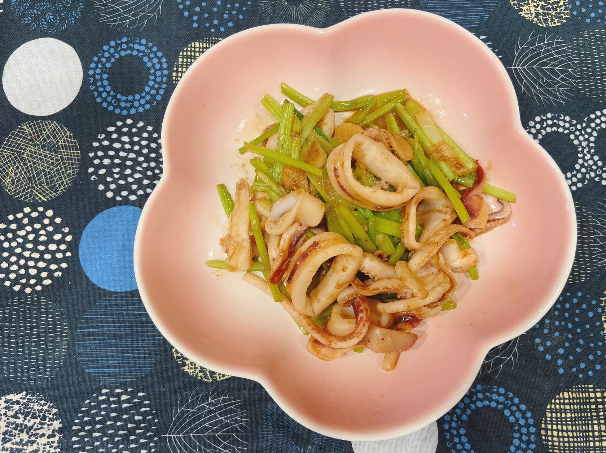 山葵醬燒中卷