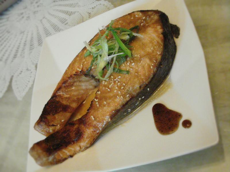 味噌烤鮭魚