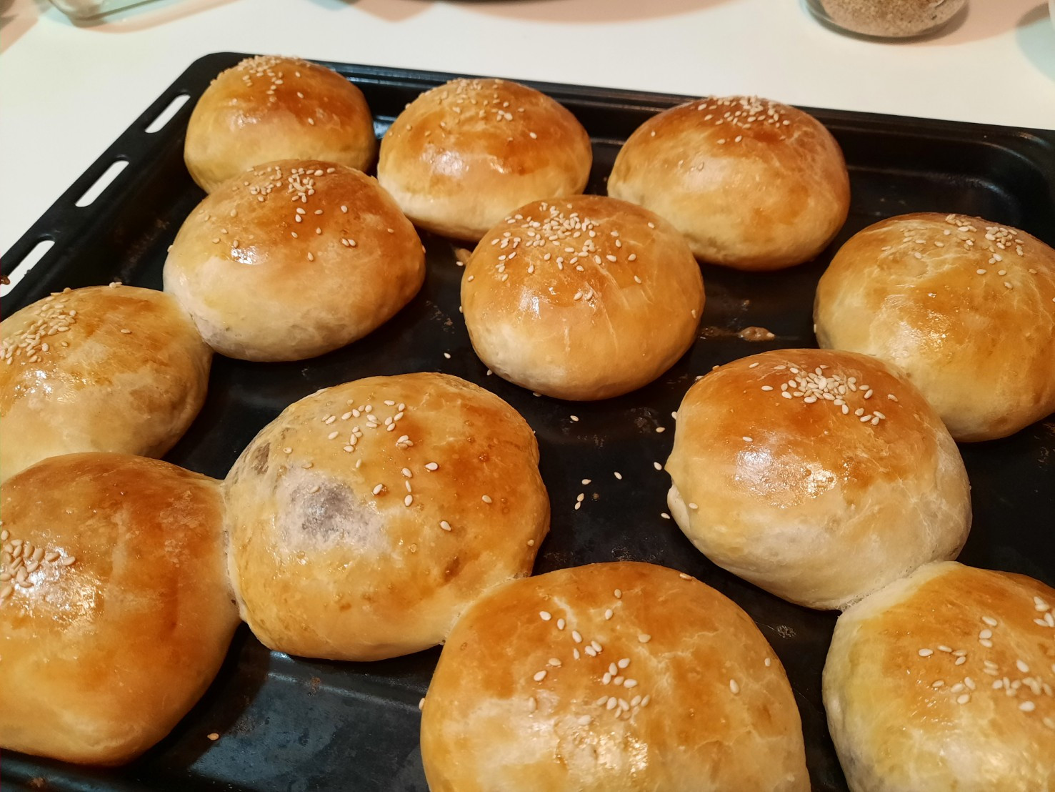 小小紅豆麵包
