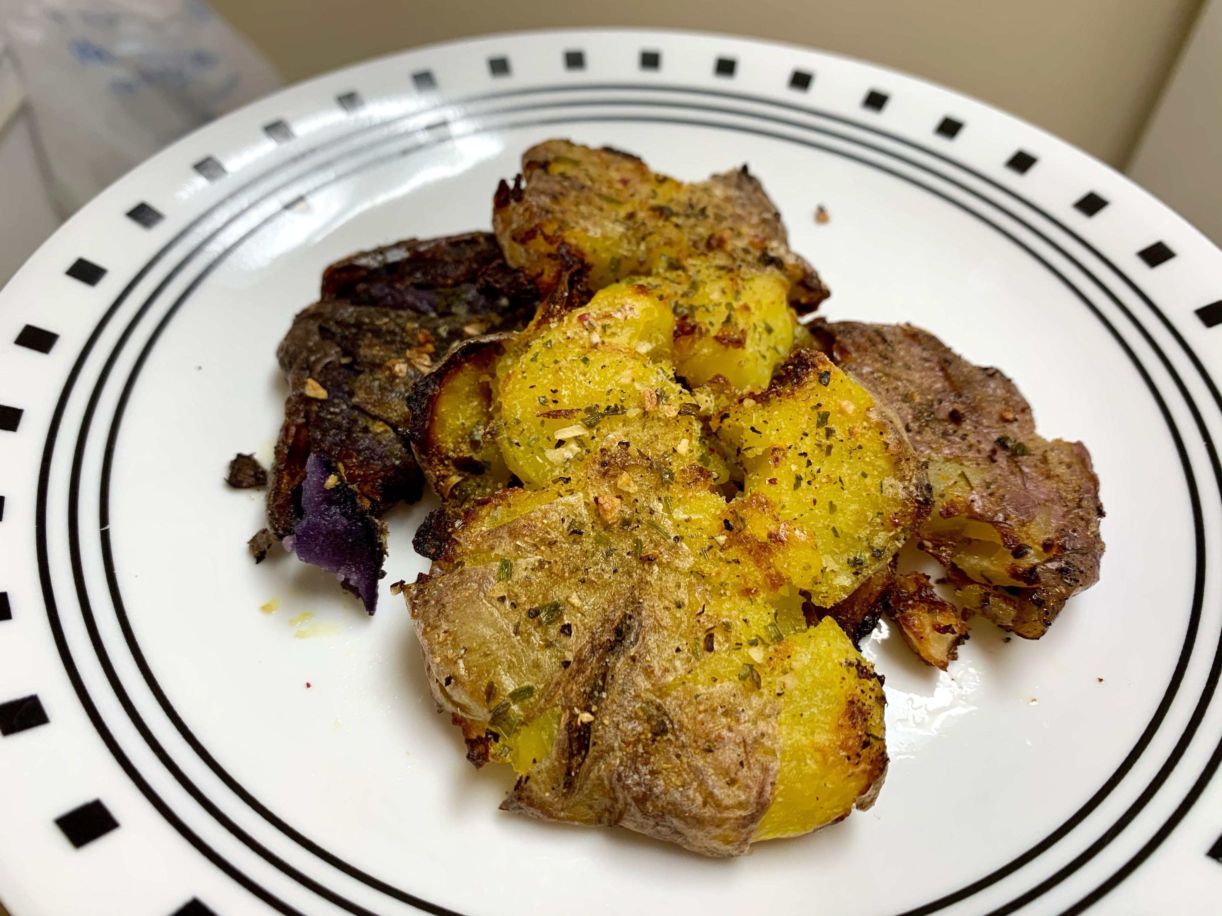 Crispy脆皮烤馬鈴薯🥔🍟