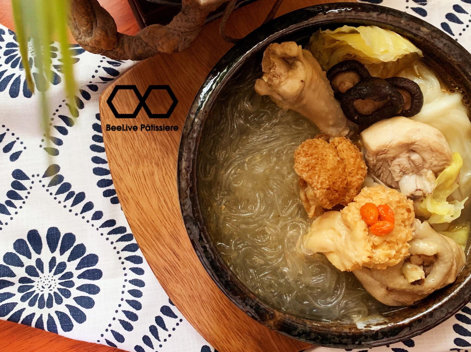 猴頭菇雞肉粉絲煲
