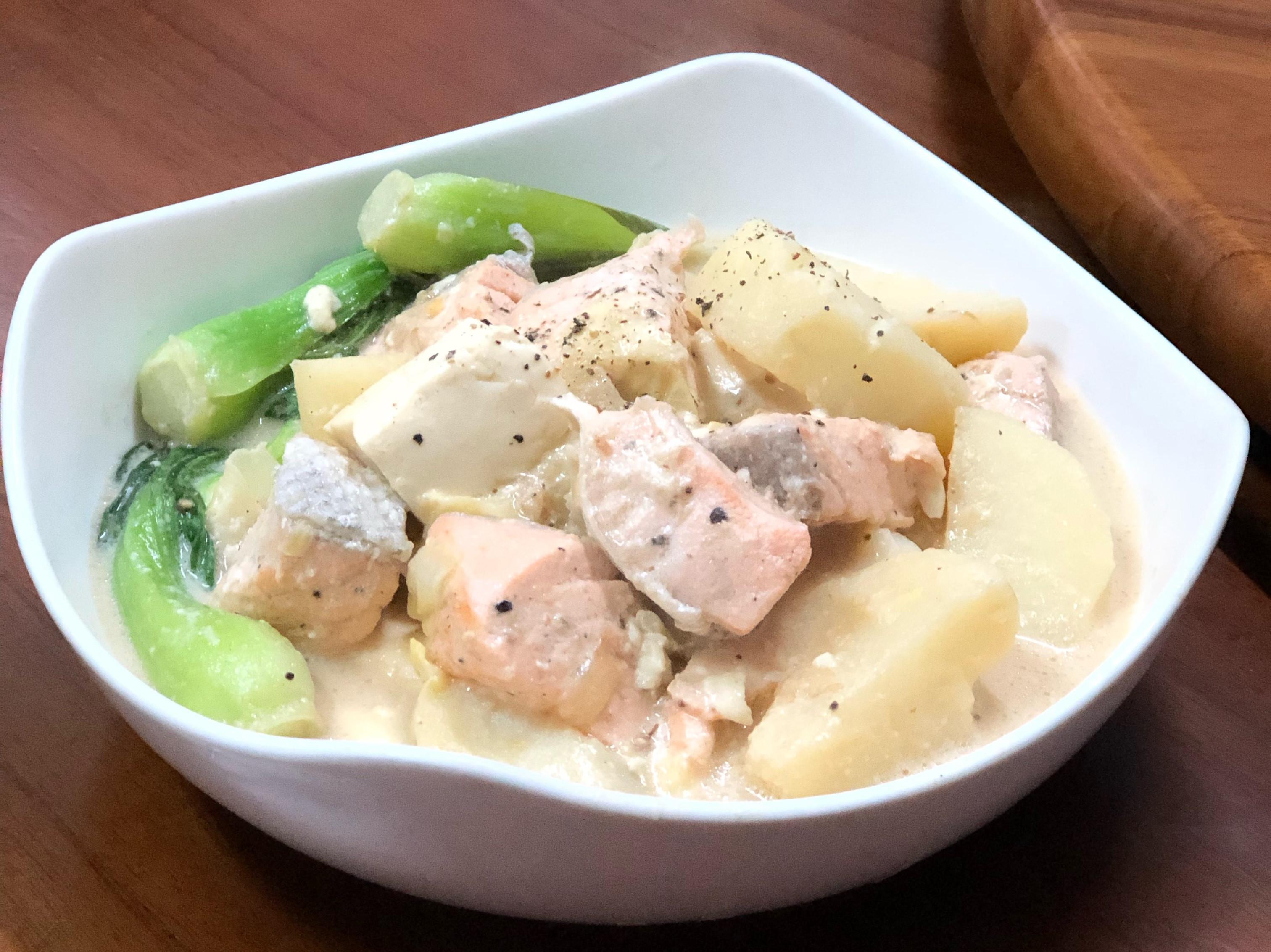 奶油鮭魚燉馬鈴薯