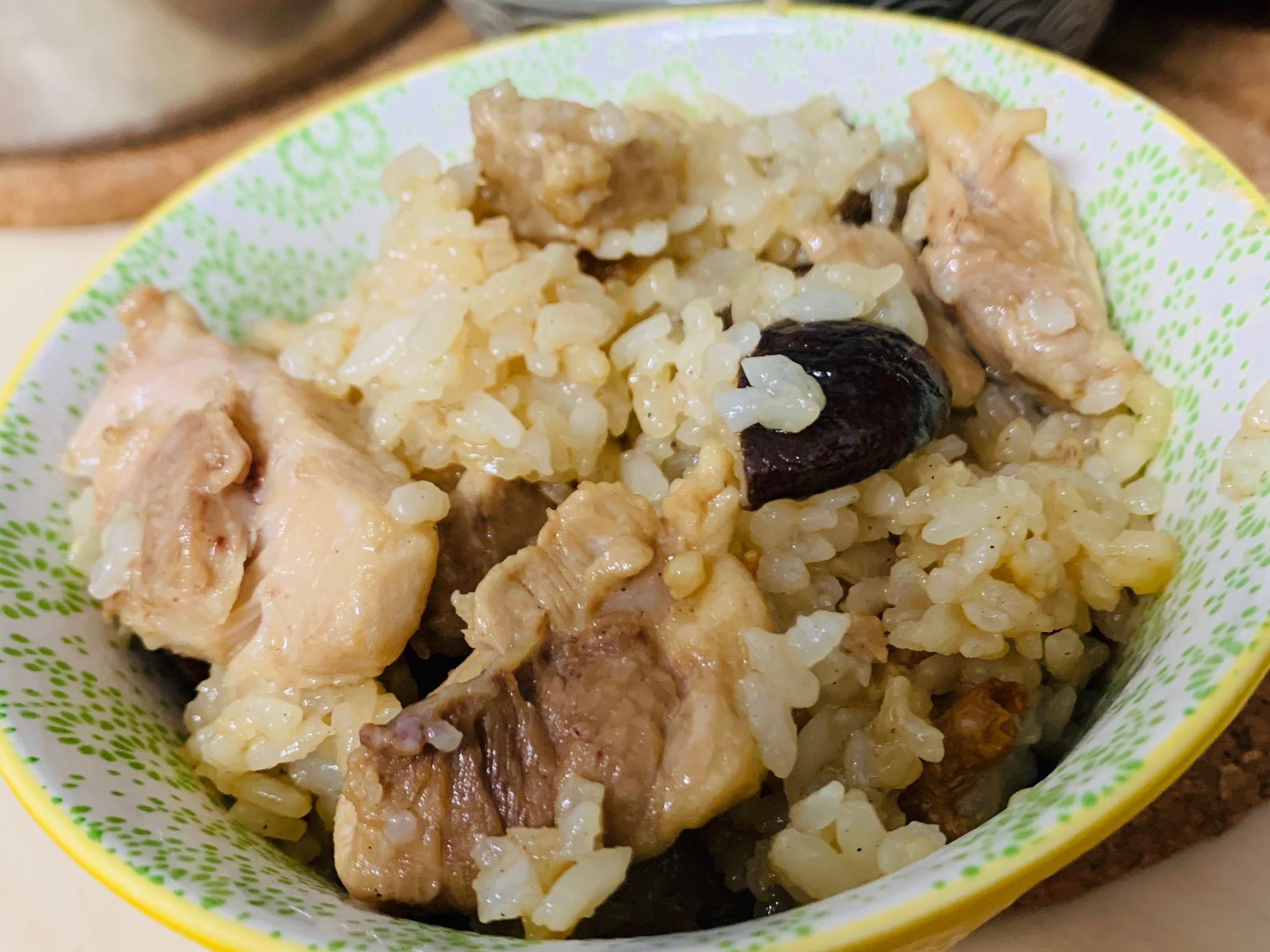 暖身料理~麻油雞飯