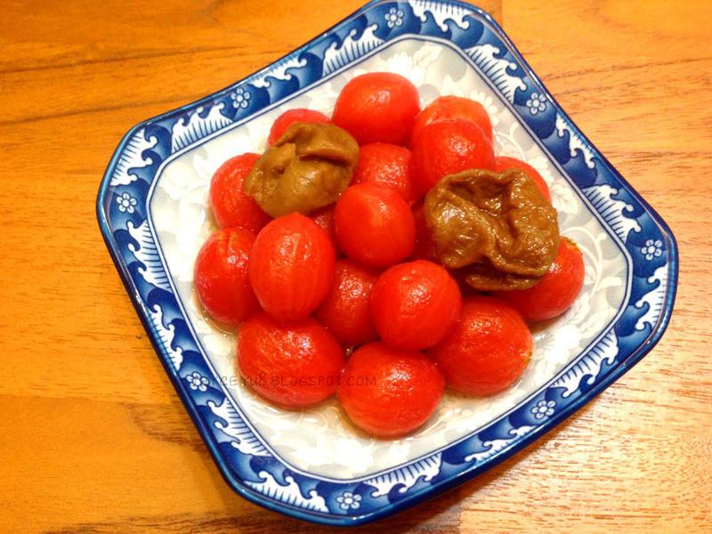冰梅醃漬蜂蜜番茄