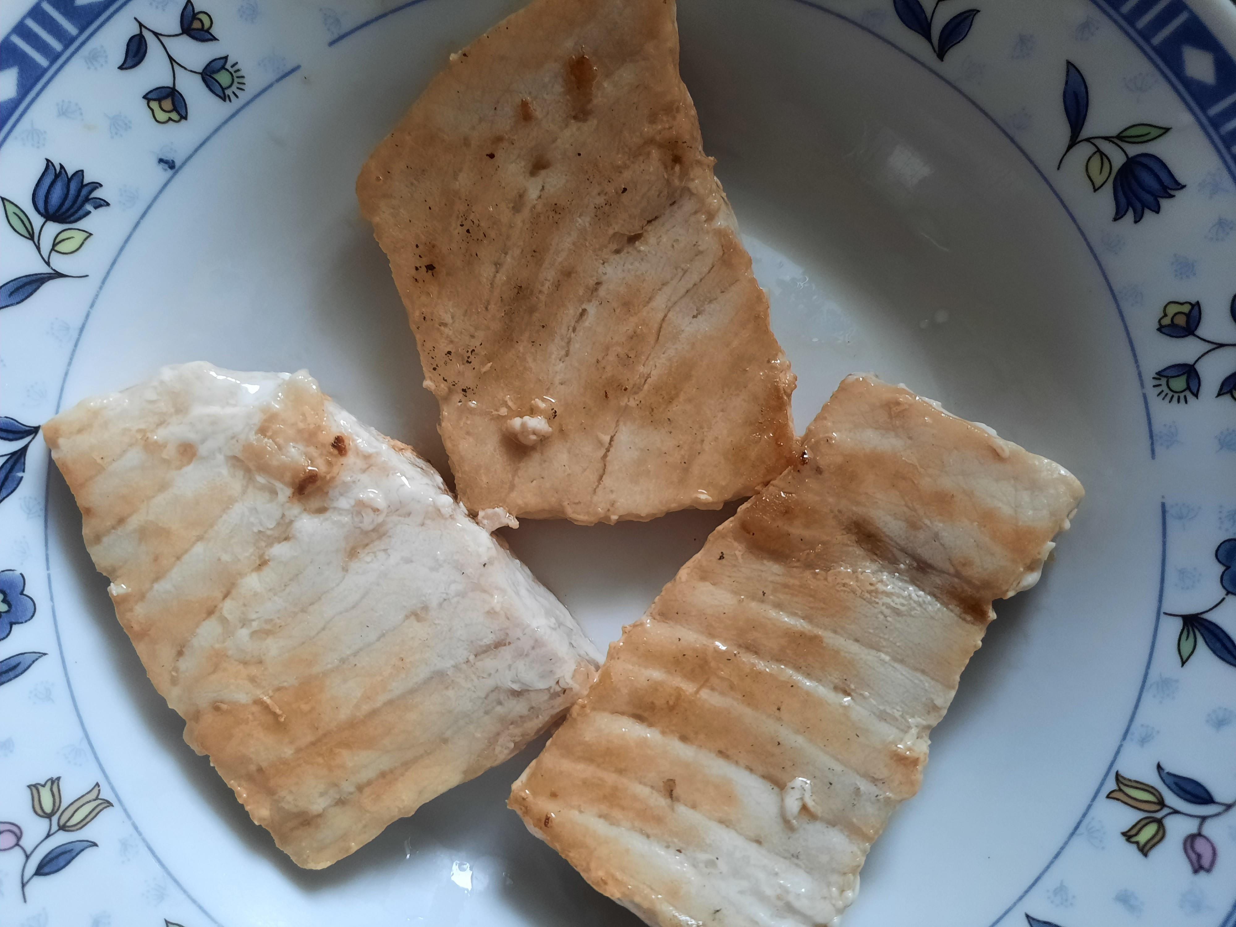 煎魚排(山葵沾醬)