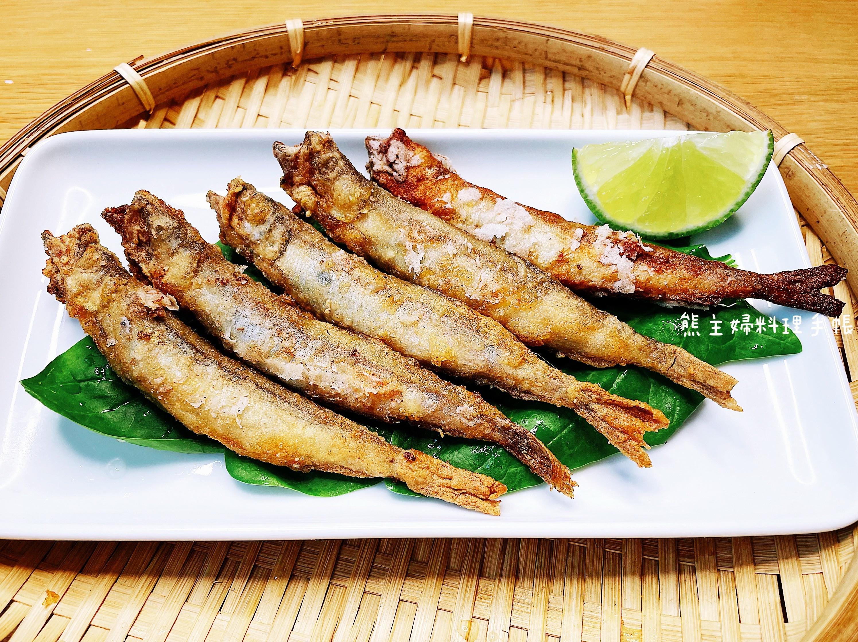 酥炸柳葉魚(簡易/竜田炸/下酒菜)