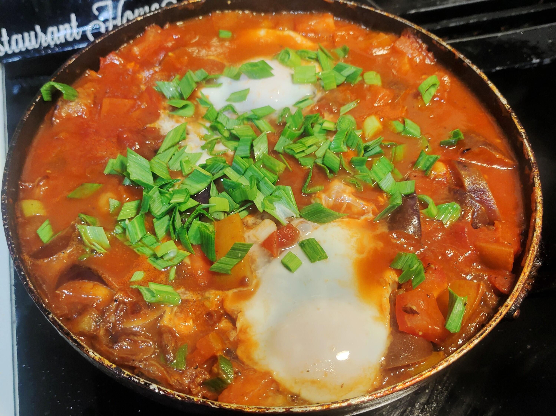 Shakshuka 八寶豆番茄茄子燉蛋
