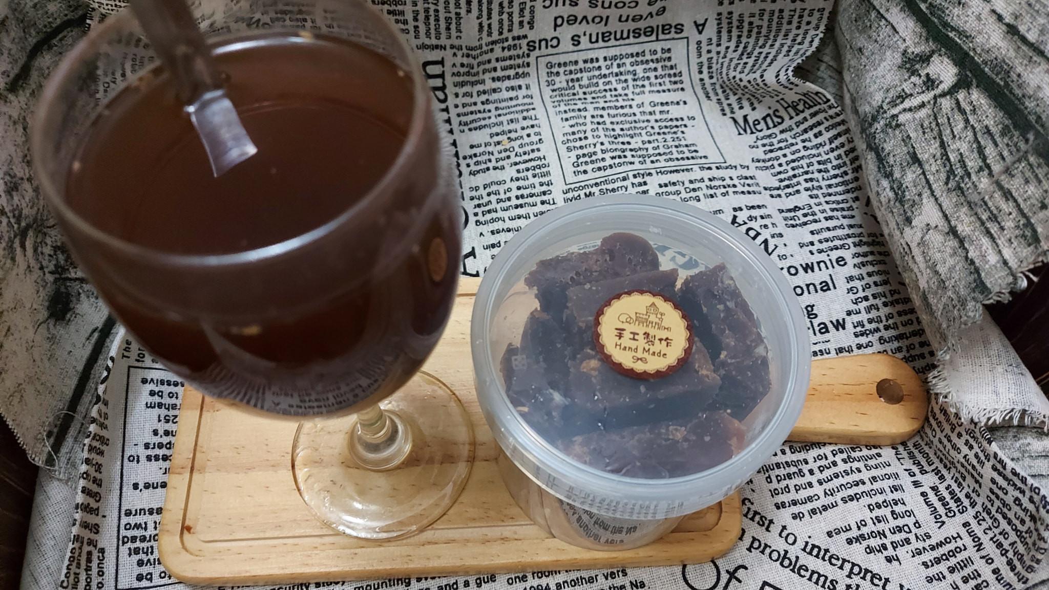 黑糖桂圓薑茶磚