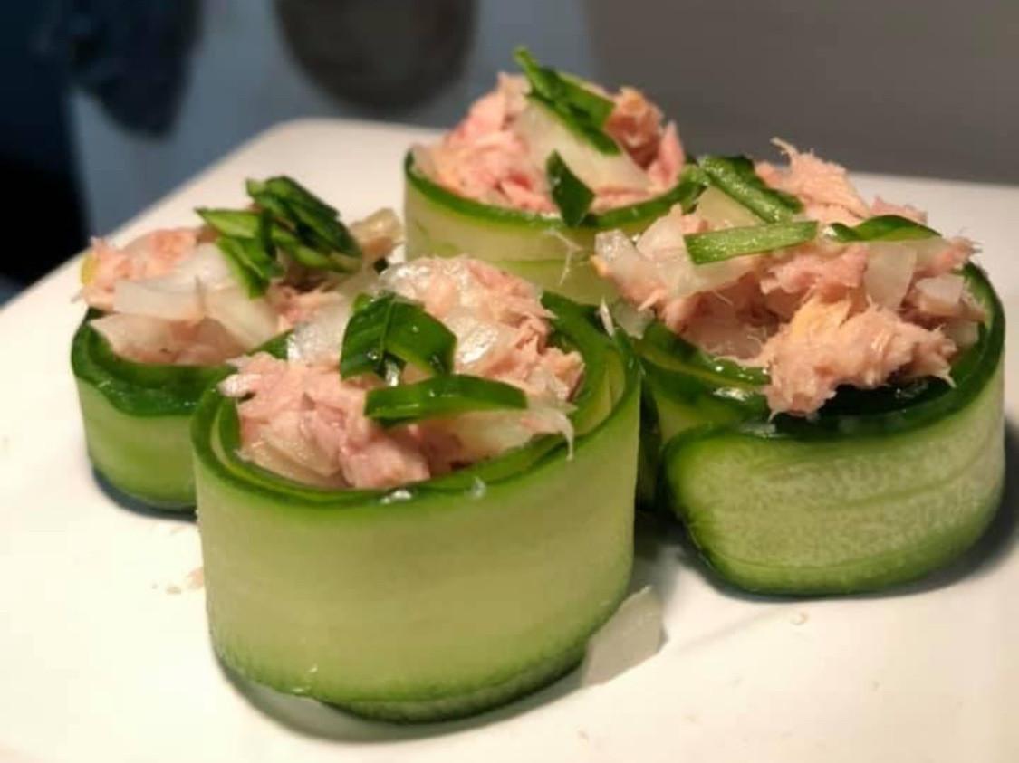 小黃瓜鮪魚捲🥒🐟