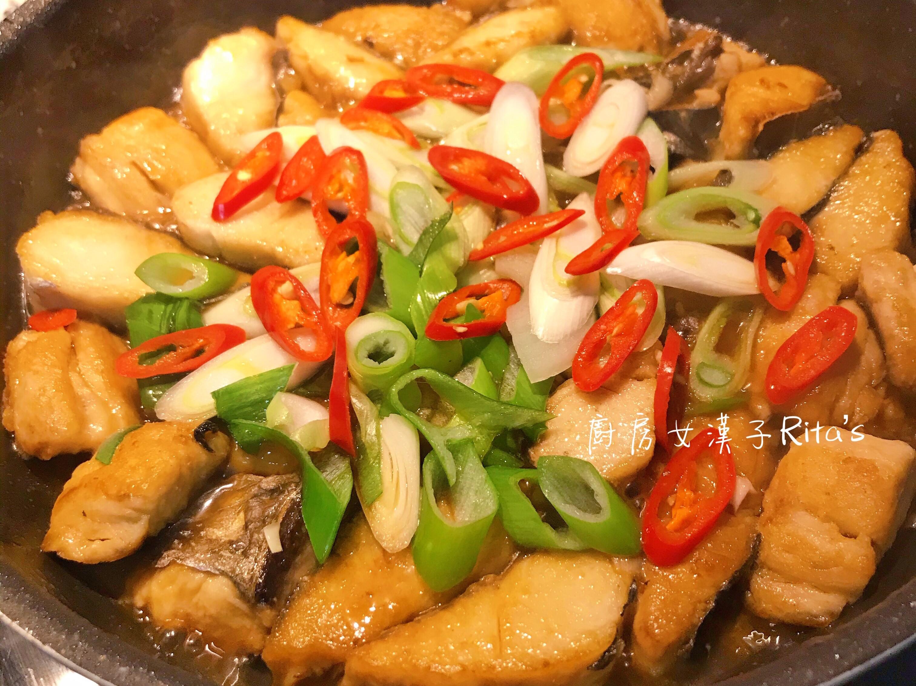 日式醬燒𩵚魠魚