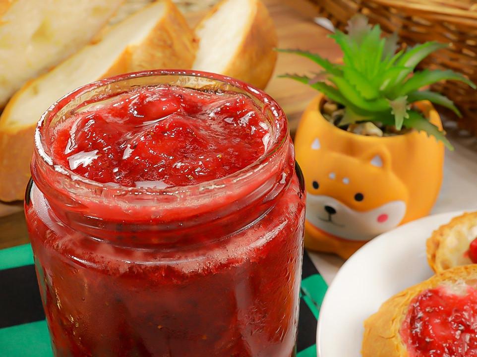 自製手工草莓果醬 天然無添加