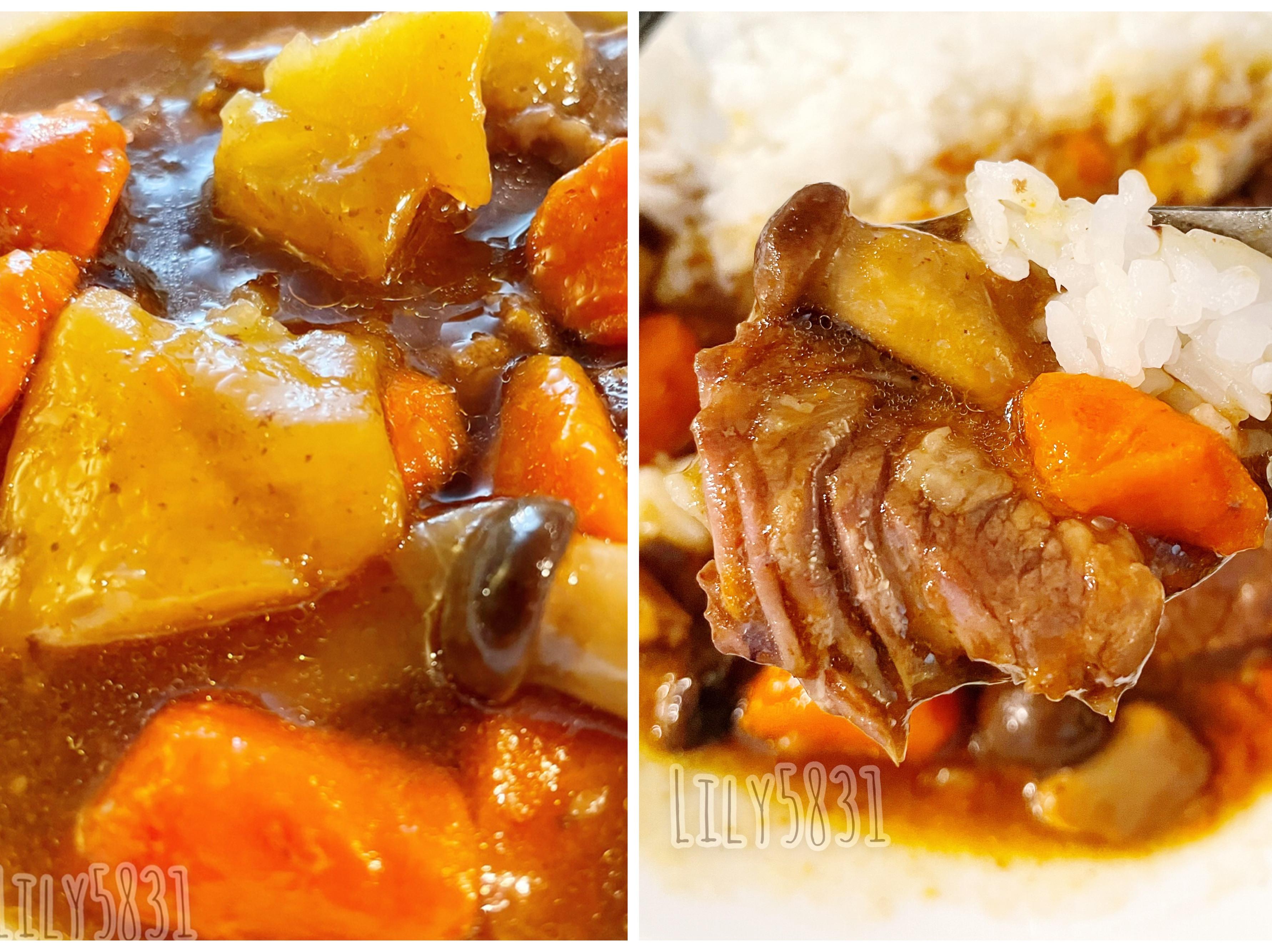 濃郁湯汁の紅燒牛肉燴飯